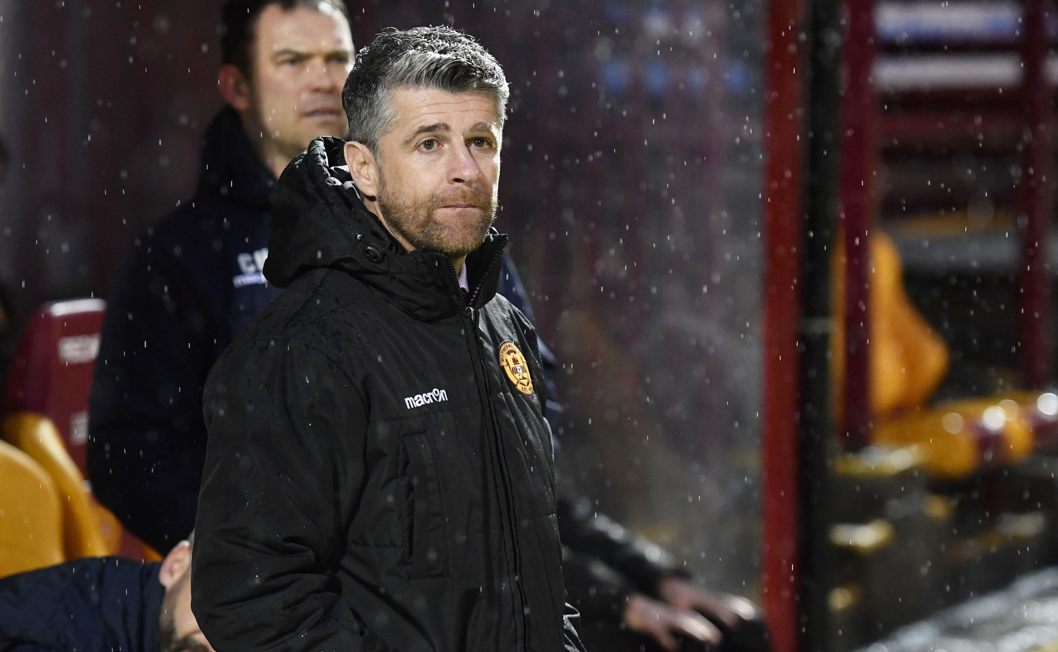 Motherwell manager Stephen Robinson (SNS Group / Rob Casey)