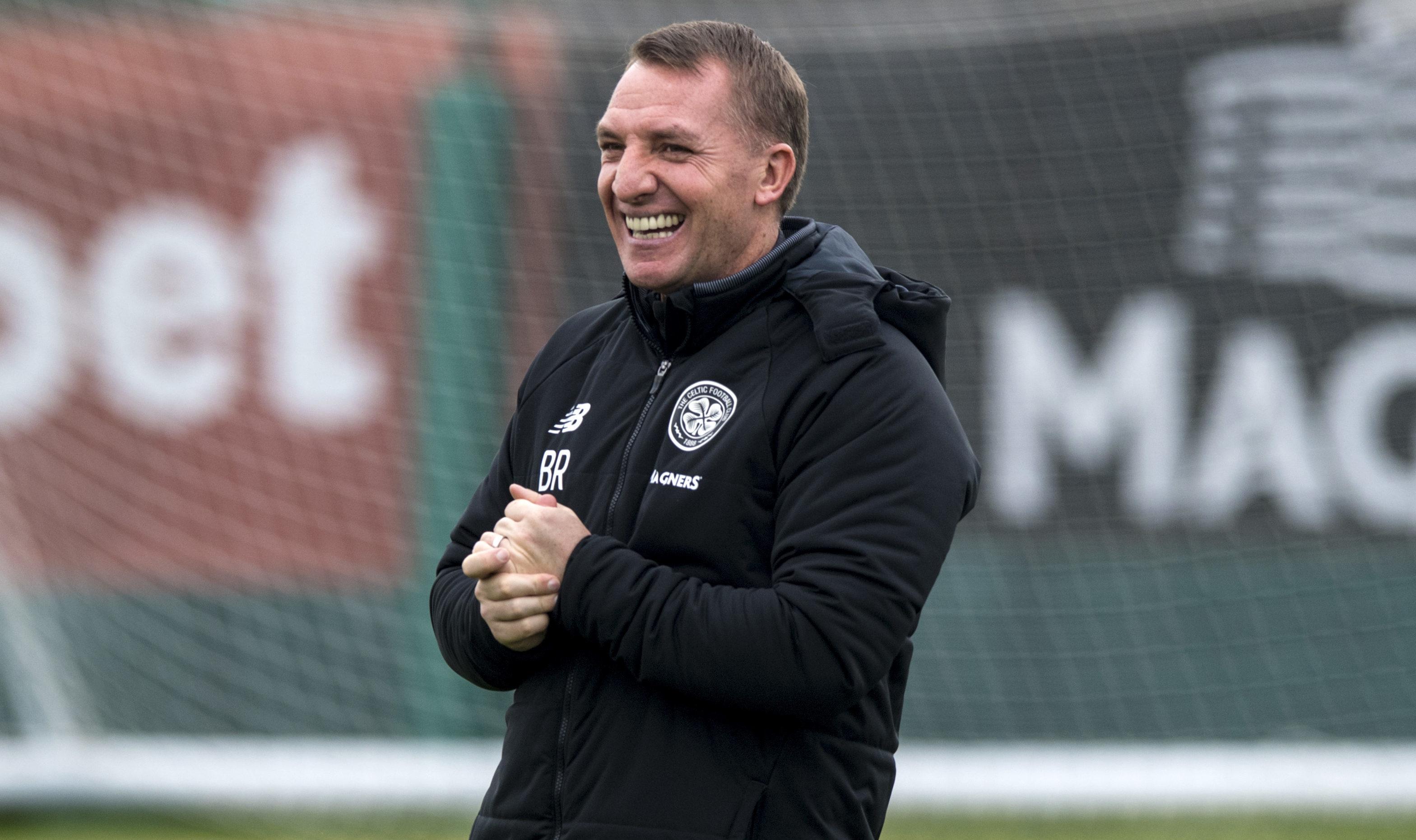 Celtic manager Brendan Rodgers (SNS Group / Alan Harvey)