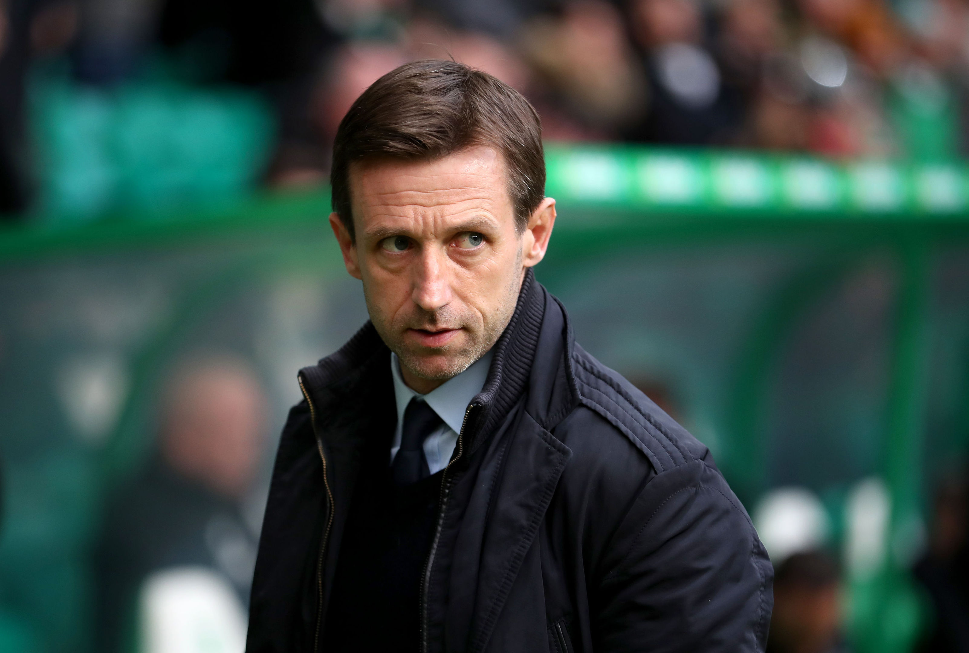 Dundee manager Neil McCann (Jane Barlow/PA Wire)