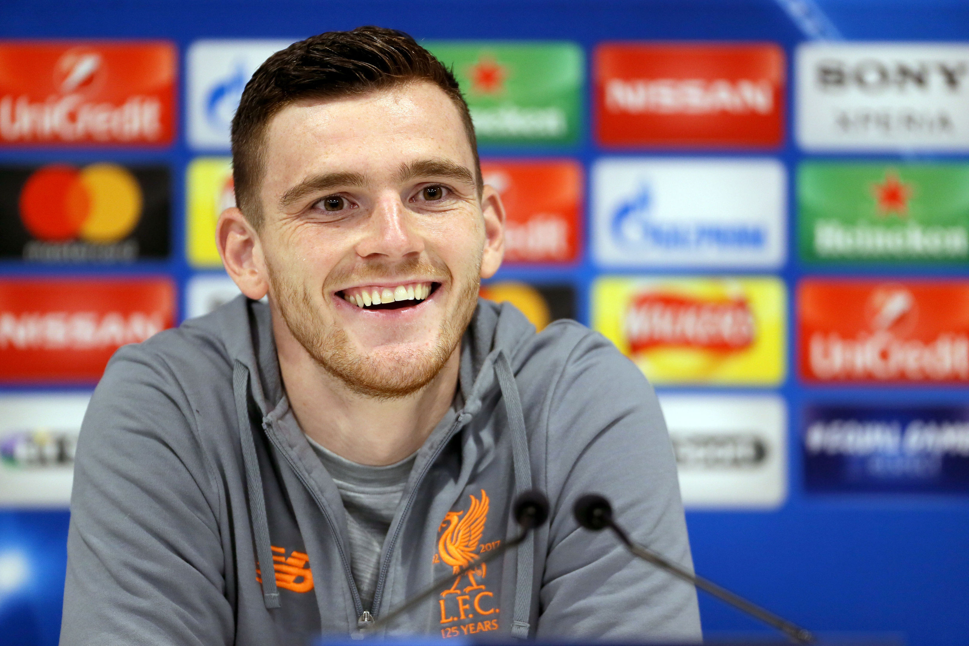 Liverpool's Andy Robertson (Richard Sellers/PA Wire)
