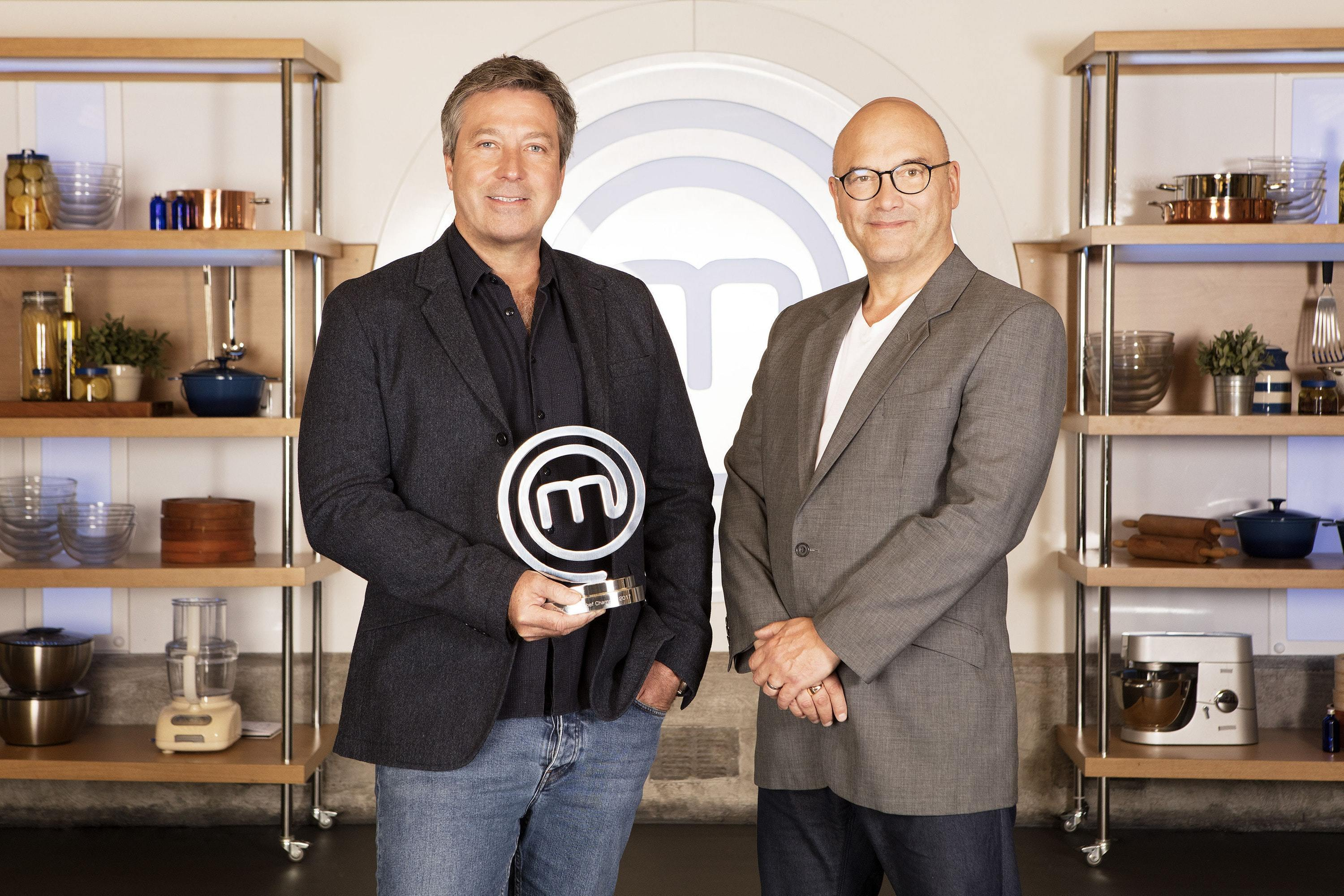 MasterChef's Gregg Wallace: I wouldn't judge Bake Off – it's an easier job (BBC)