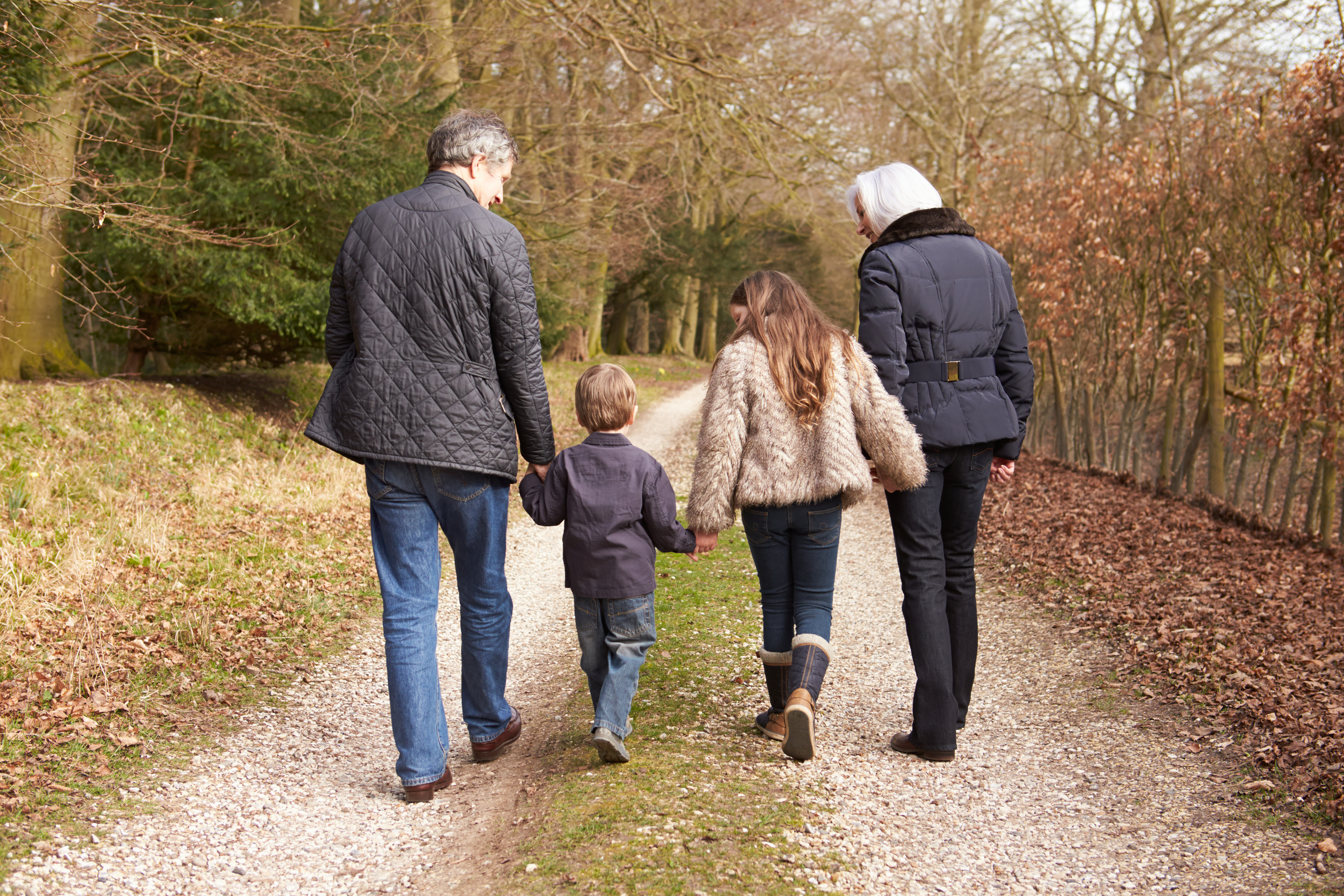 52% of grandparents said they helped parents out (Getty Images/iStock)