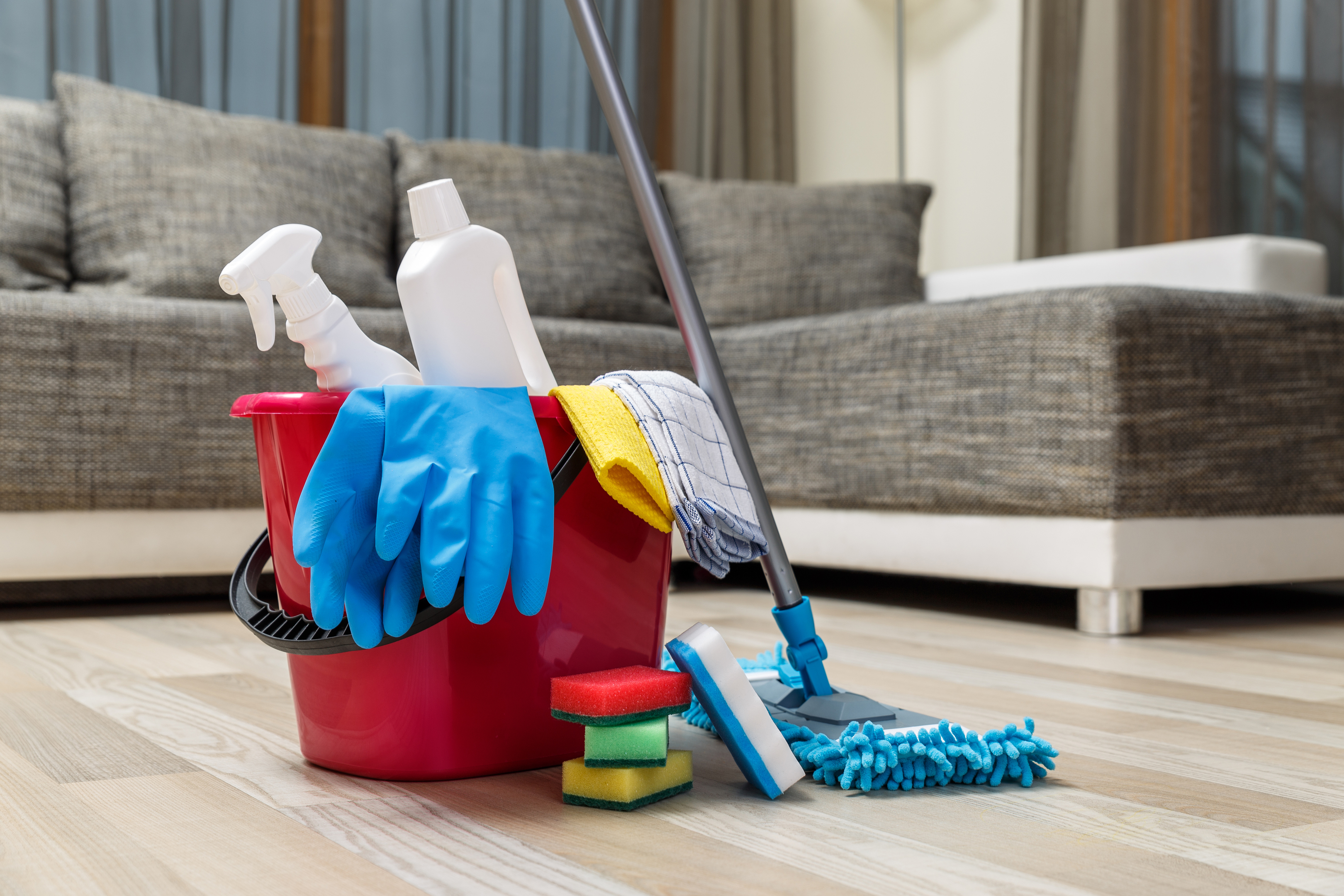 6% of those surveyed have a house cleaner (Getty Images/iStock)