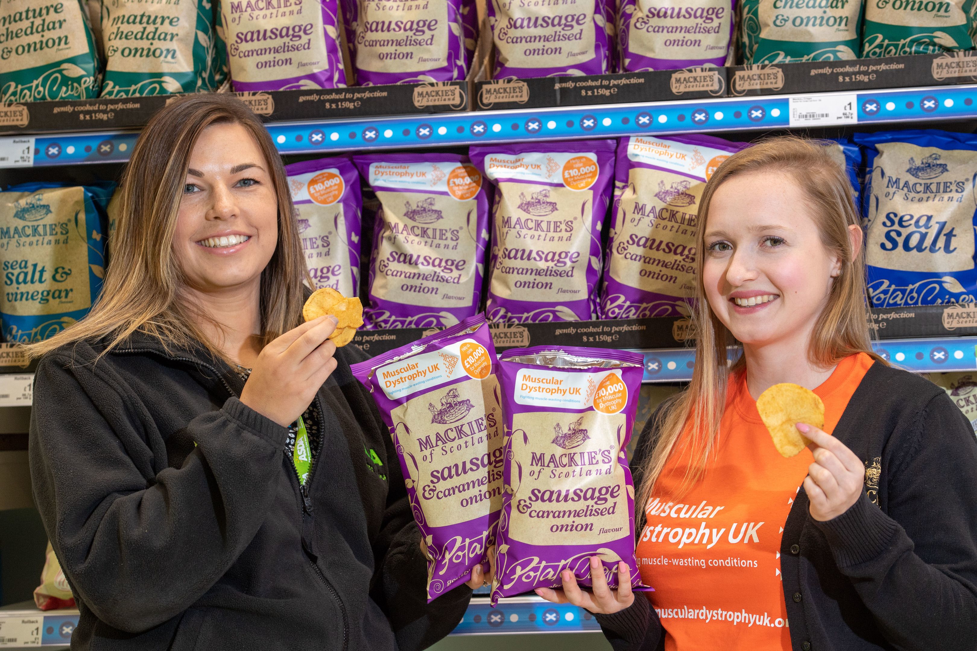 The crisps will raise money for Muscular Dystrophy UK (Ian Georgeson Photography)
