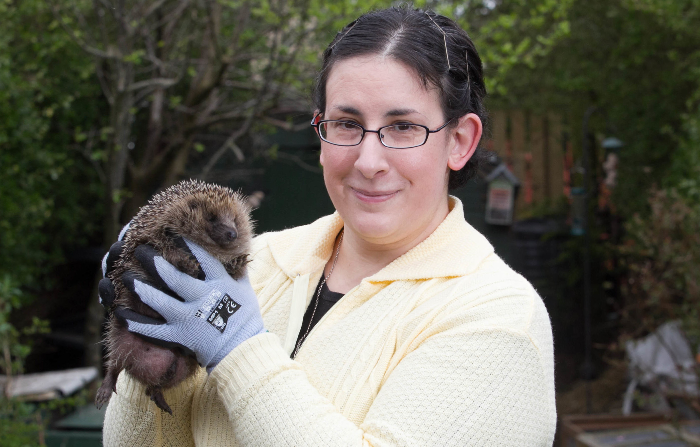 Nadia Al-Dujaii runs Forth Hedgehog Hospital from her home in Roysth (Chris Austin / DC Thomson)