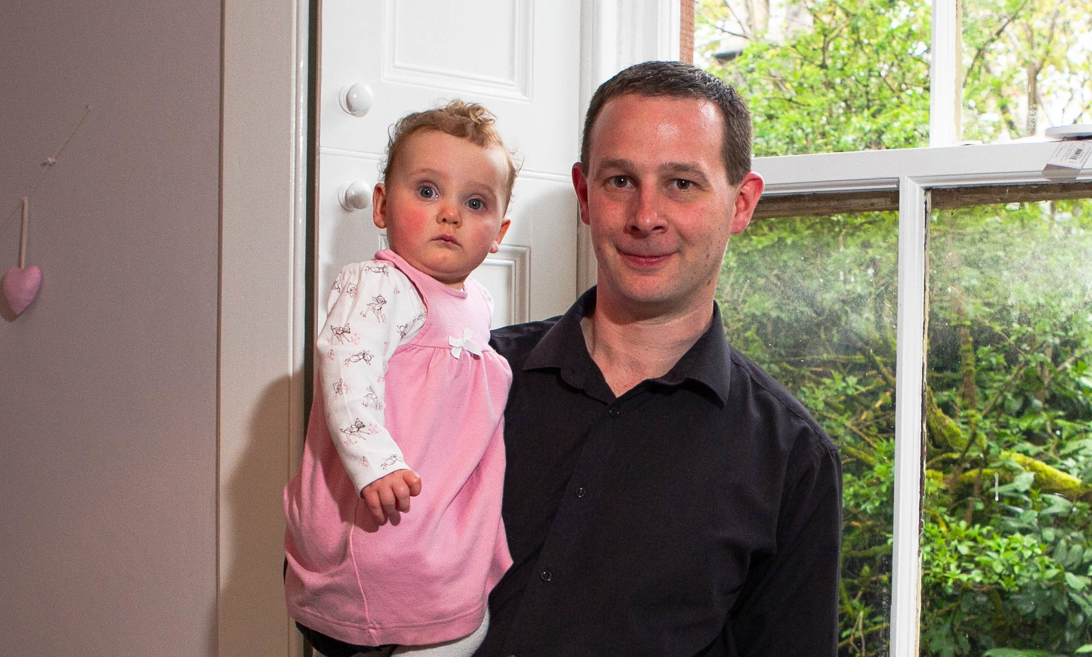 Andrew Cameron with his daughter Jess (Chris Austin / DC Thomson)