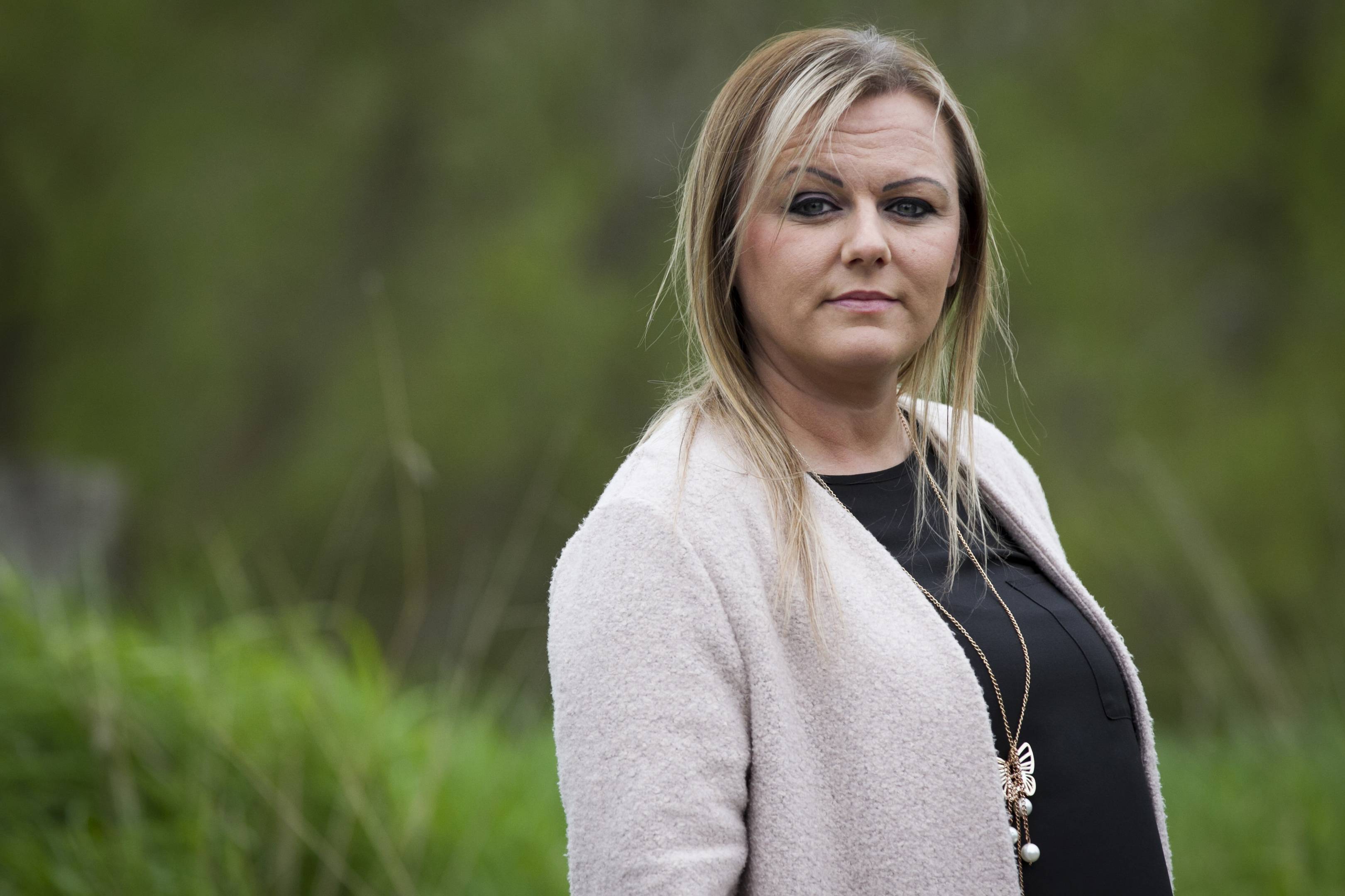 Pamela Risk has been forced to buy drugs online for a thyroid problem (Andrew Cawley / DC Thomson)