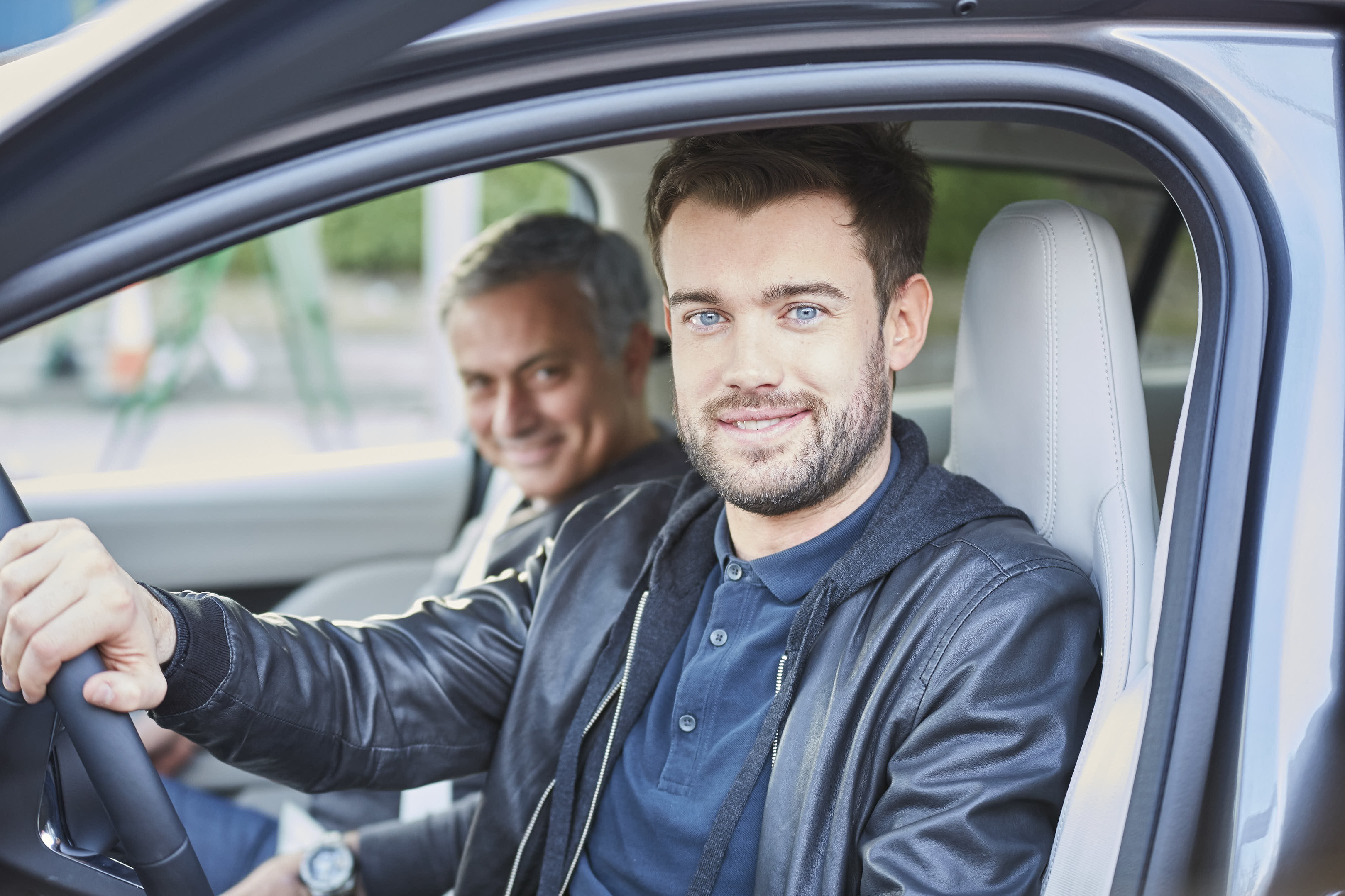 A driving lesson with a difference for Jack Whitehall