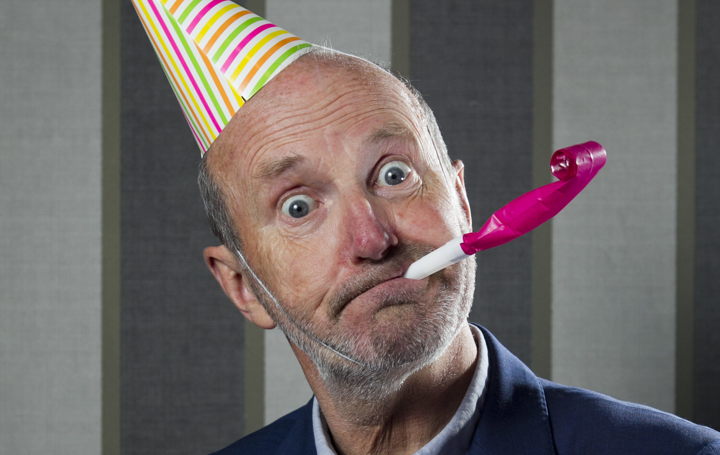 Fred MacAulay is marking 30 years in comedy (Andrew Cawley / DC Thomson)