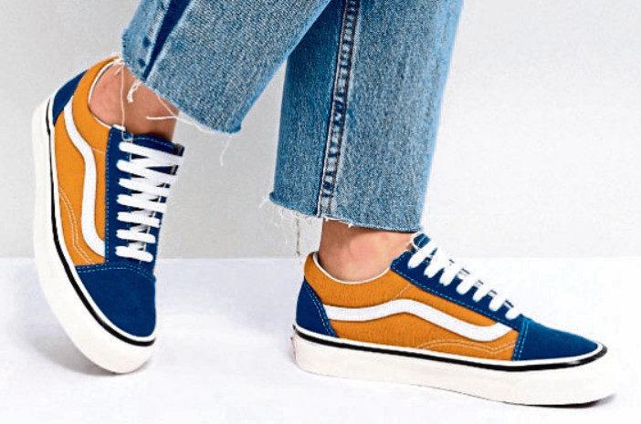 The Vans shoes