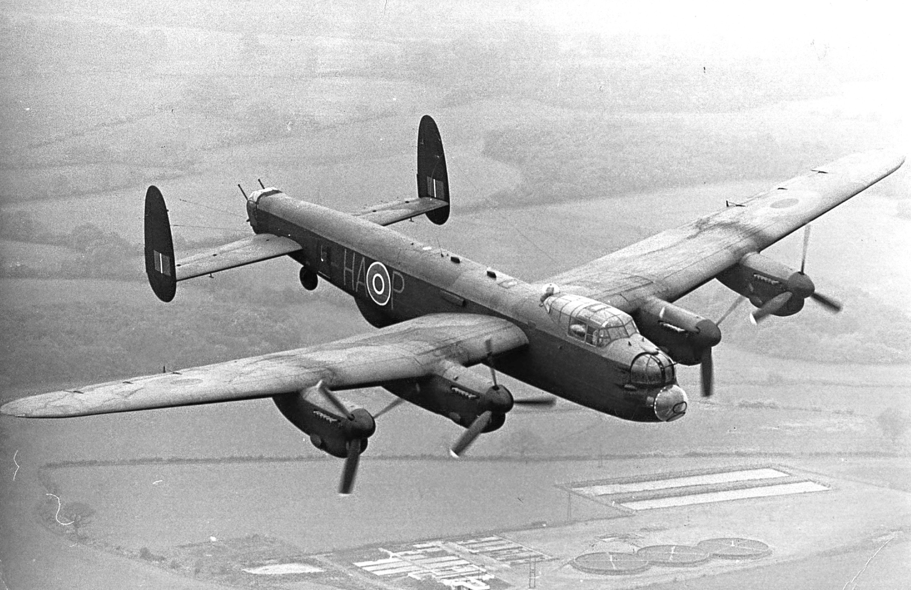 A Lancaster Bomber (Hulton Archive/Getty Images)