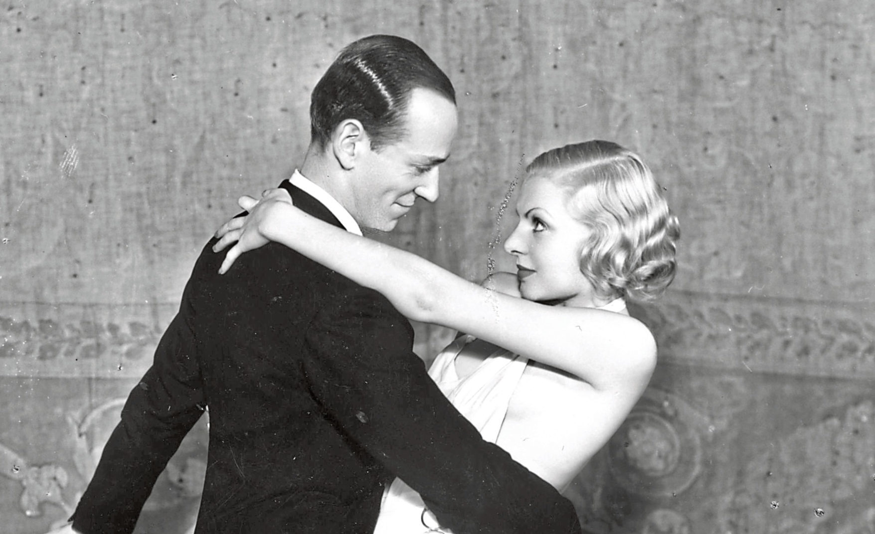 Fred Astaire cutting a rug with Claire Luce in The Gay Divorce, 1933 (Sasha/Getty Images)