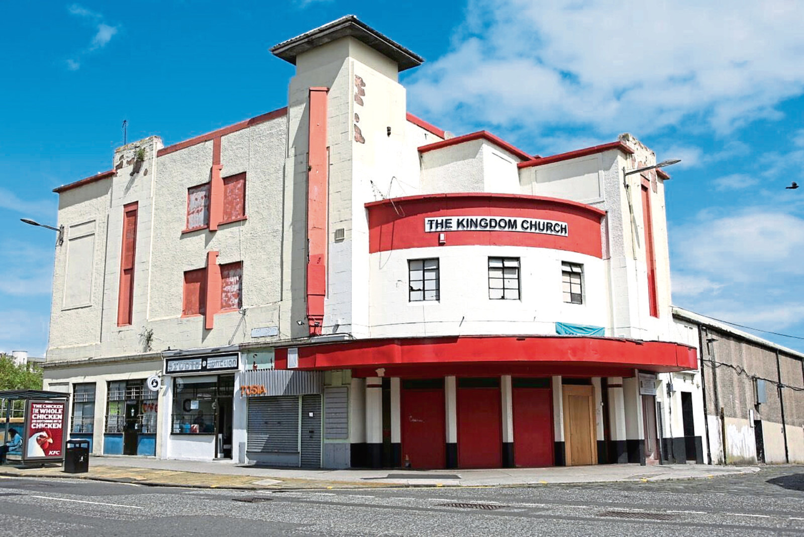 The cinema as it is today as The Kingdom Church