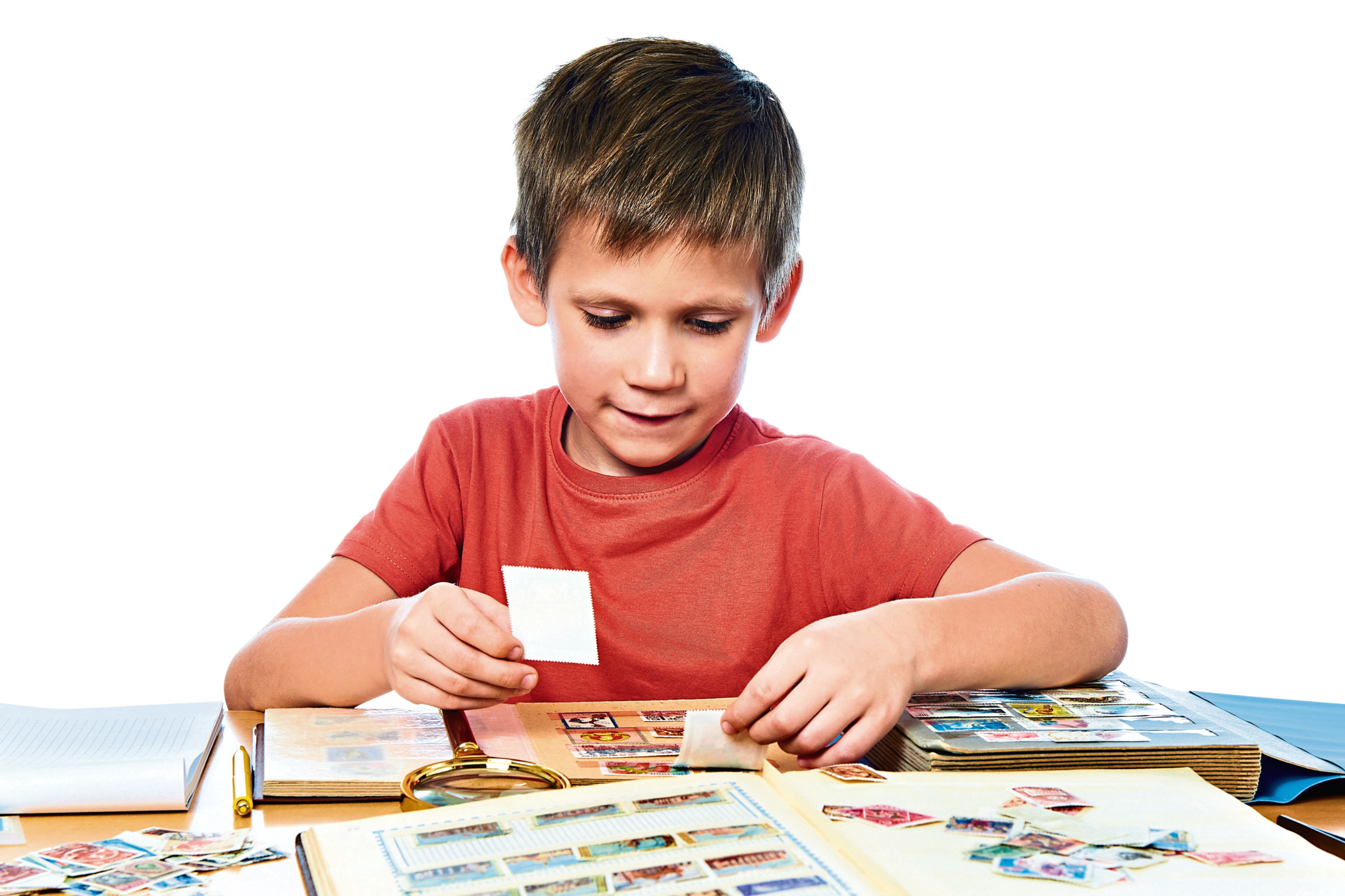 Many collected stamps when they were younger