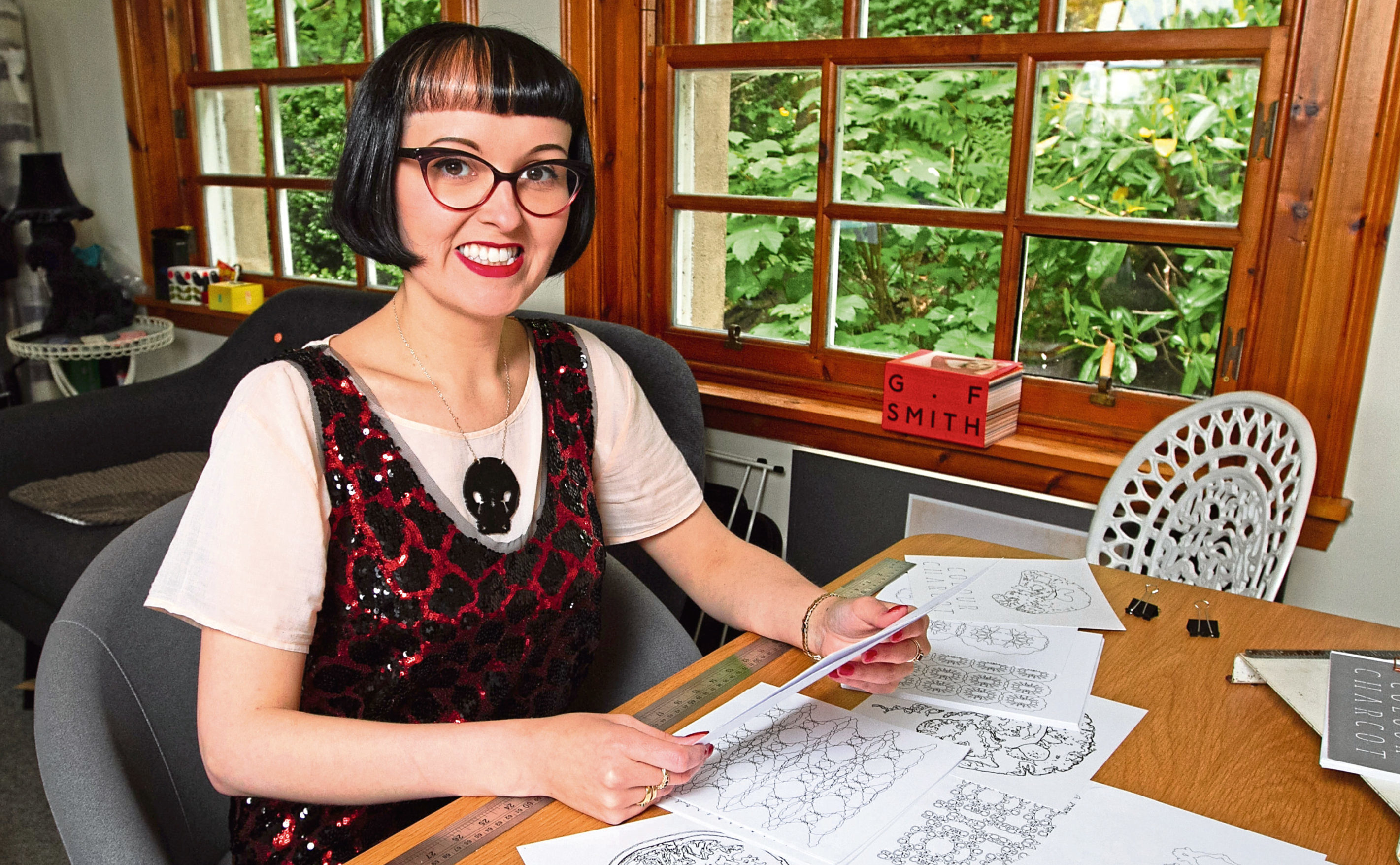 Kirsty Stevens is living with MS (Chris Austin / DC Thomson)