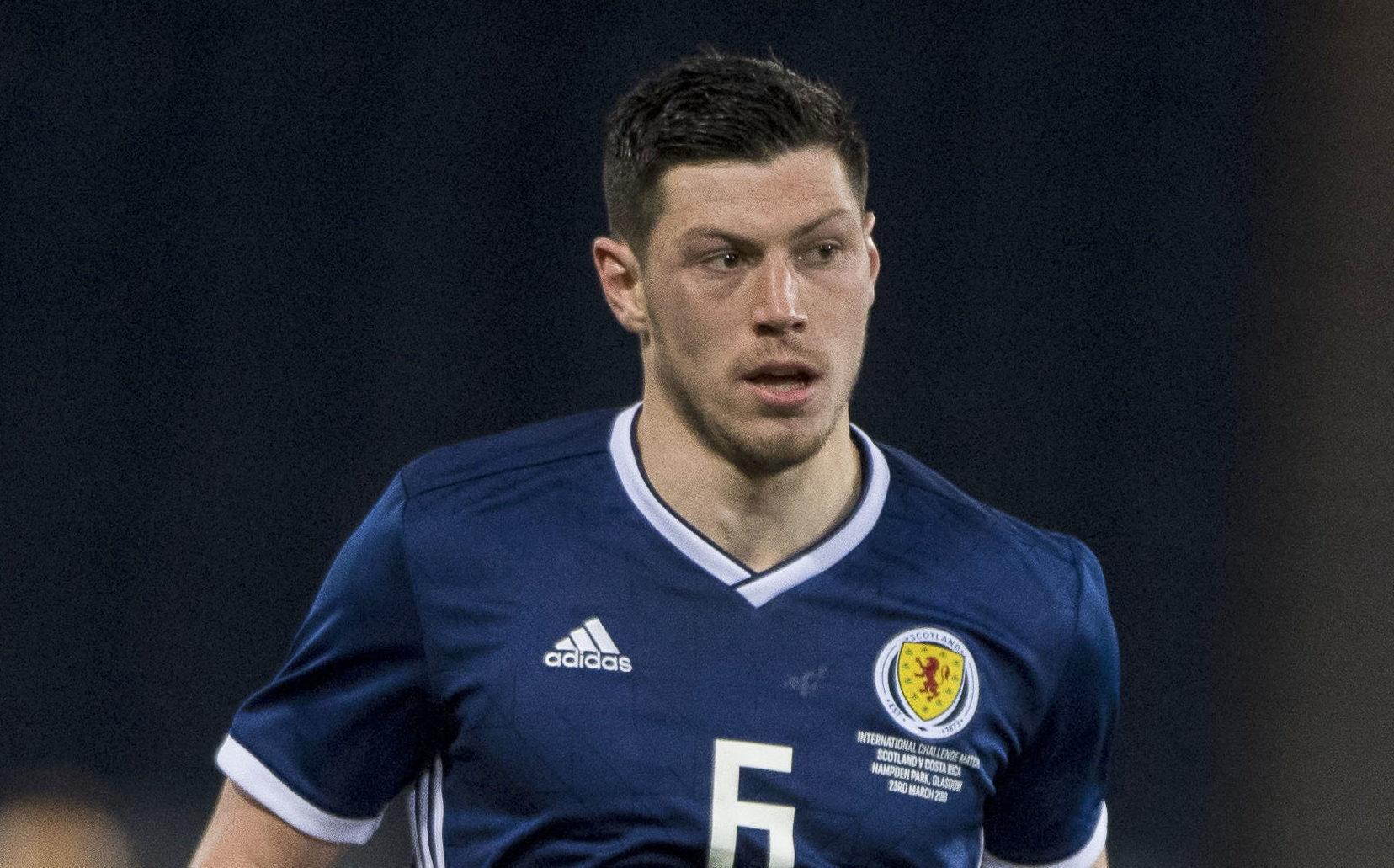 Scott McKenna in action for Scotland (SNS Group)