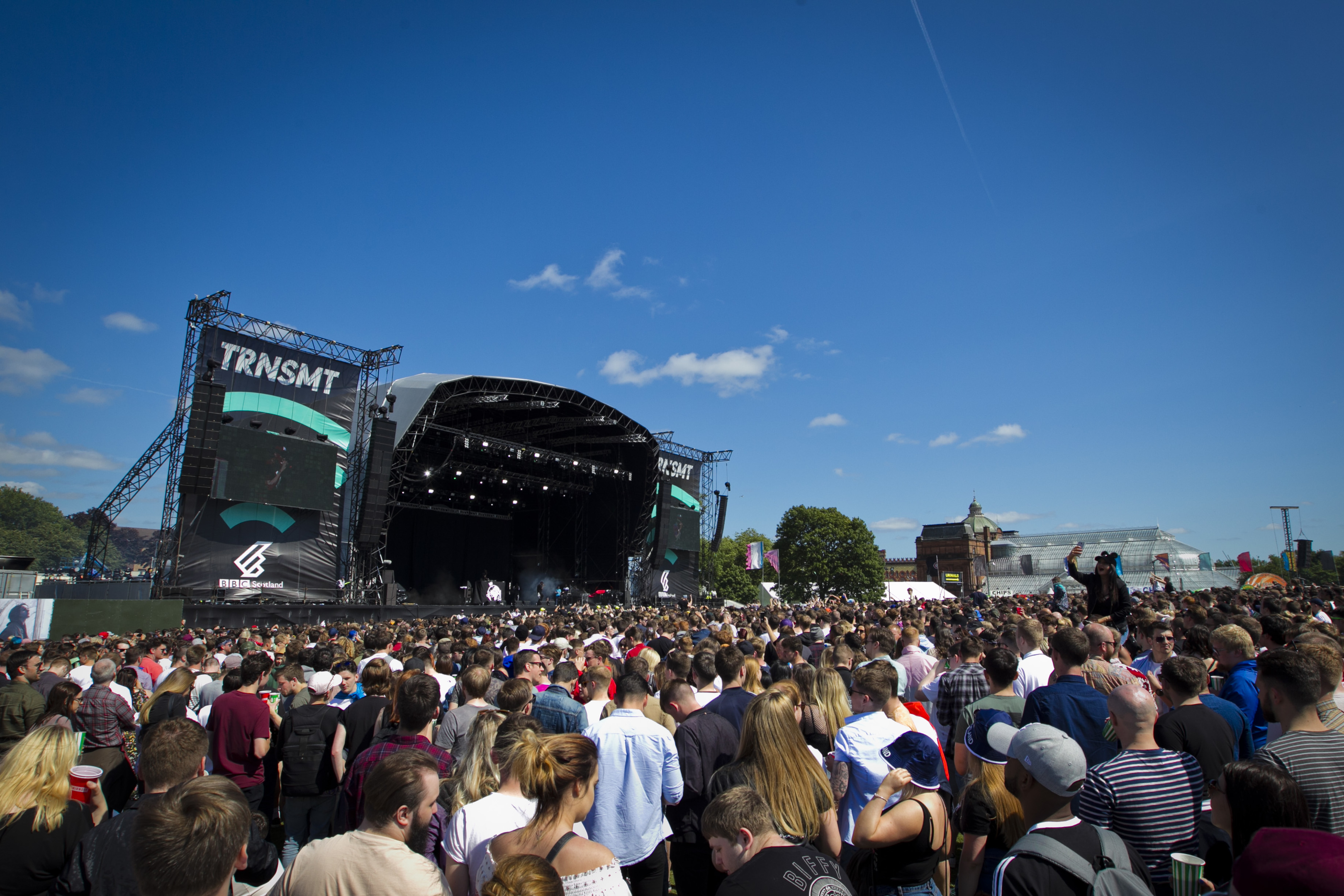 The TRNSMT music festival in Glasgow is scheduled for July