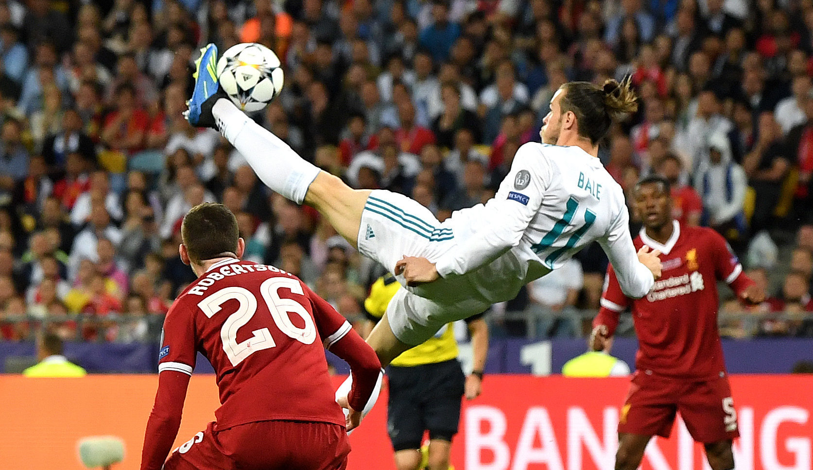 Gareth Bale's stunning strike (David Ramos/Getty Images)