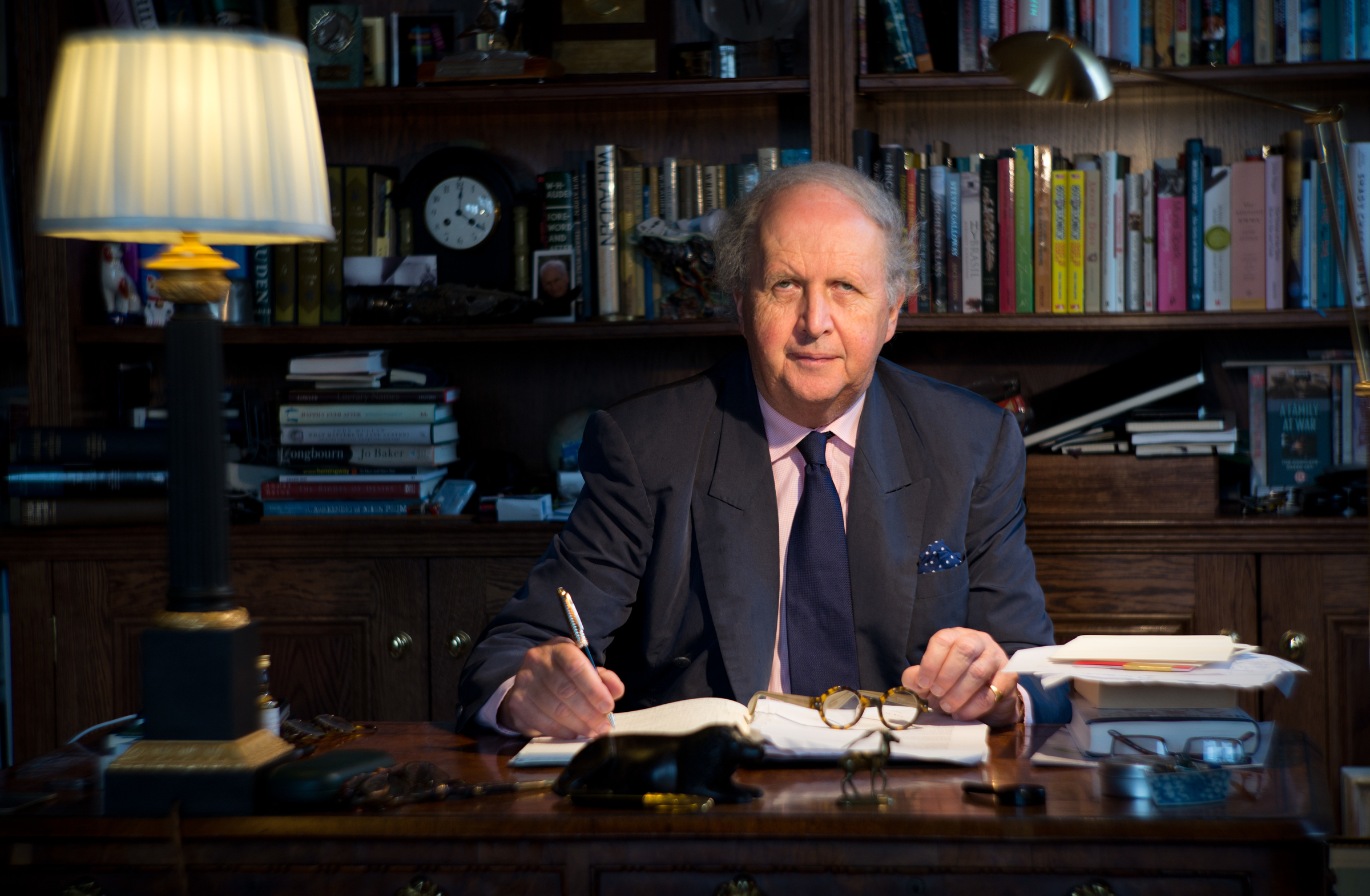 Alexander McCall Smith (Alex Hewitt/Writer Pictures)