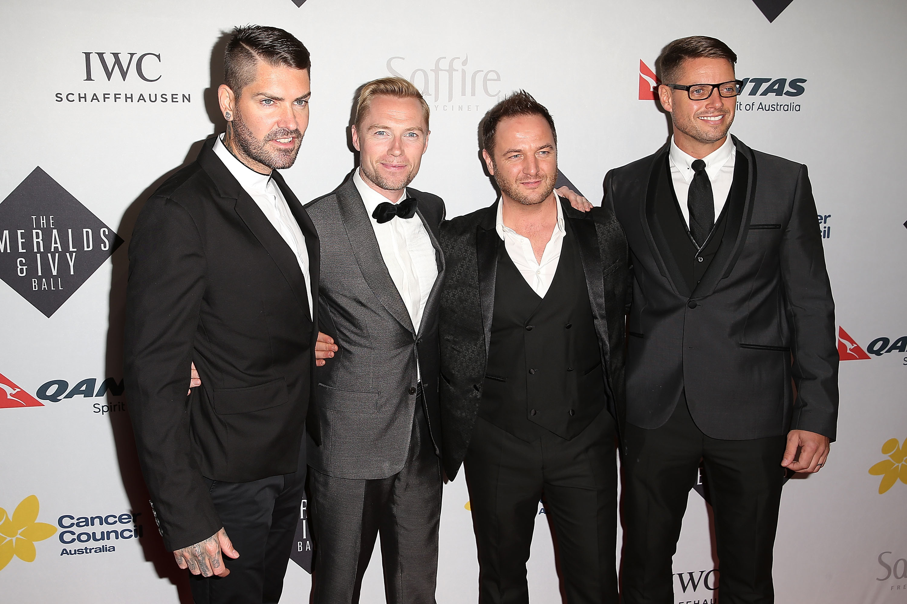 Boyzone (Brendon Thorne/Getty Images)