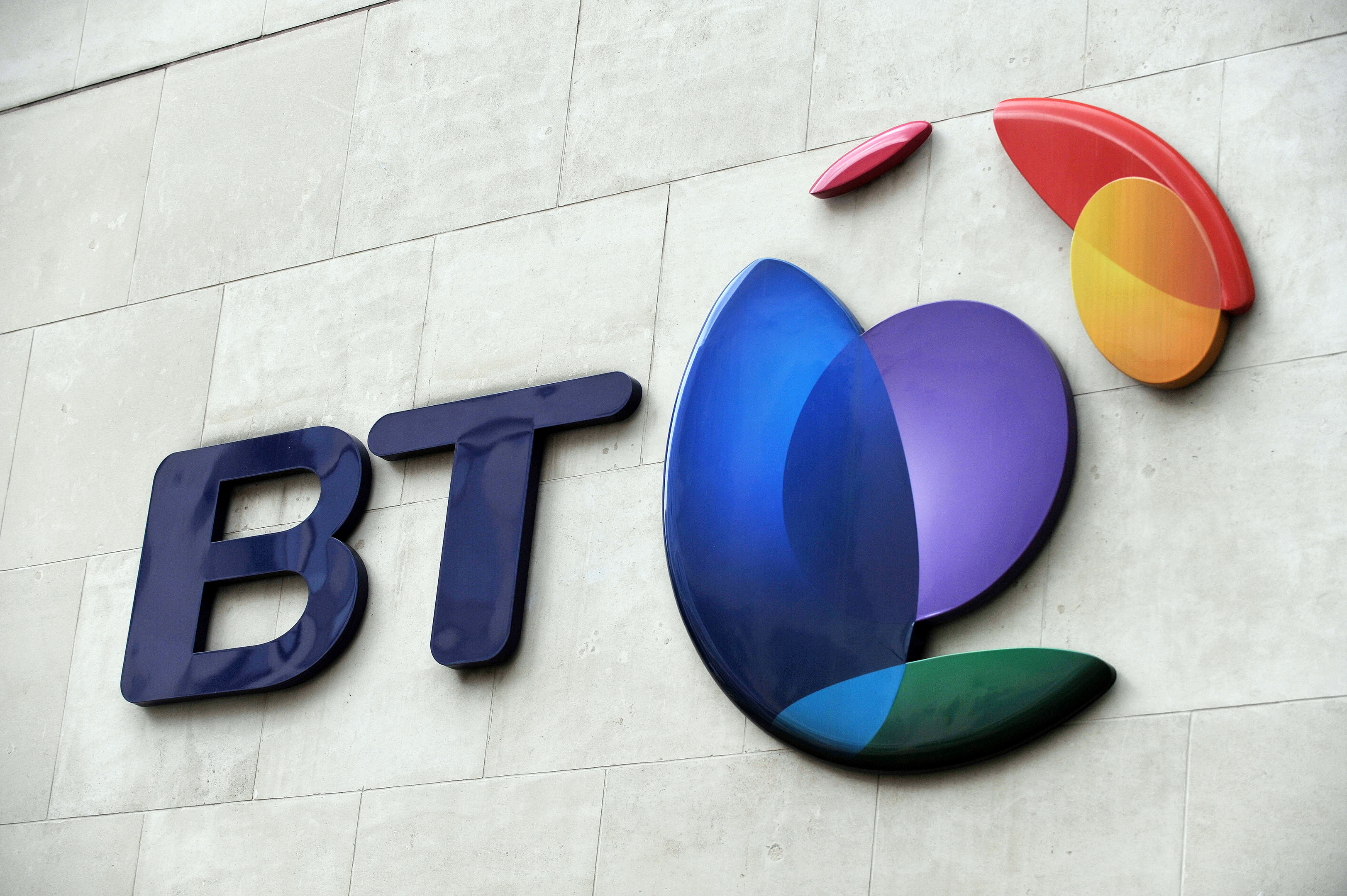 The telecoms giant is to axe around 13,000 jobs over three years as it aims to cut costs (Nick Ansell/PA Wire)