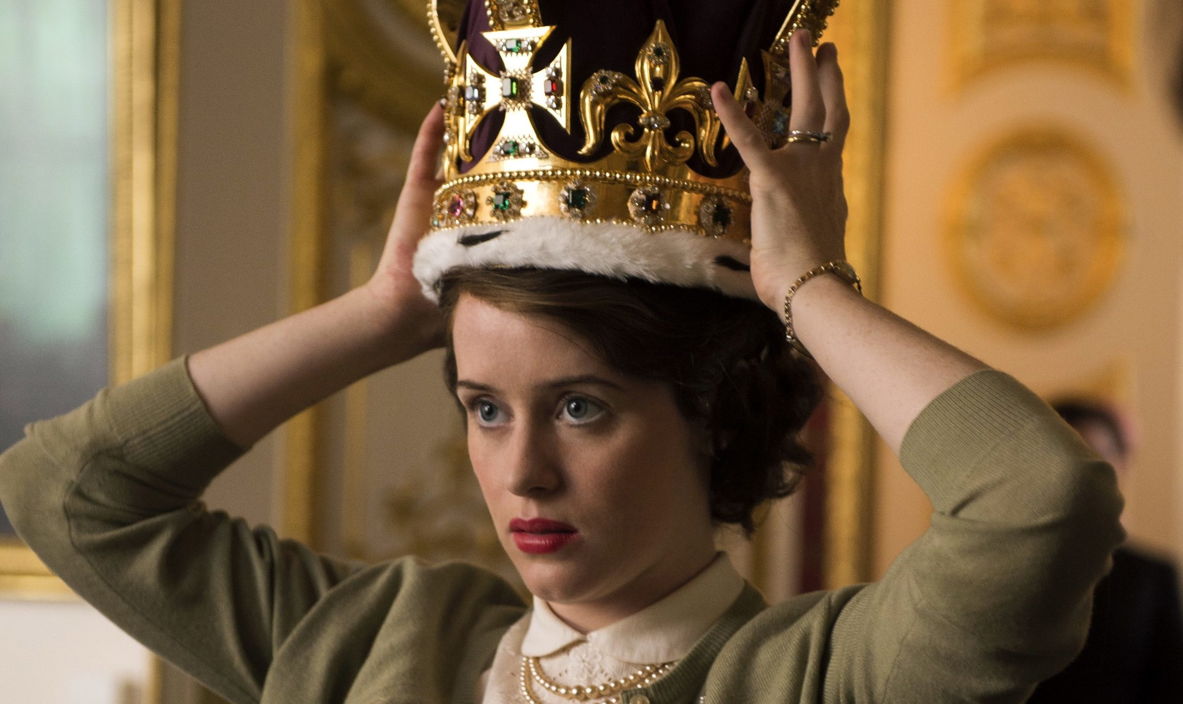 Claire Foy in The Crown (Allstar/NETFLIX)
