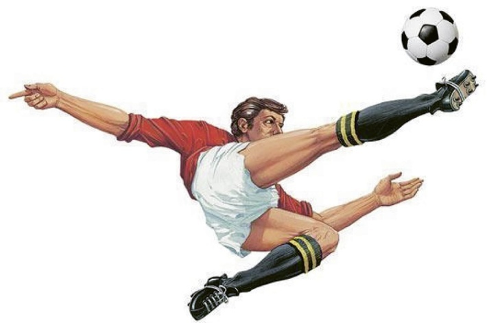 "Carlo Parola's signature ""bicycle kick"" was actually invented in Scotland decades before the Italian ever carried it out"