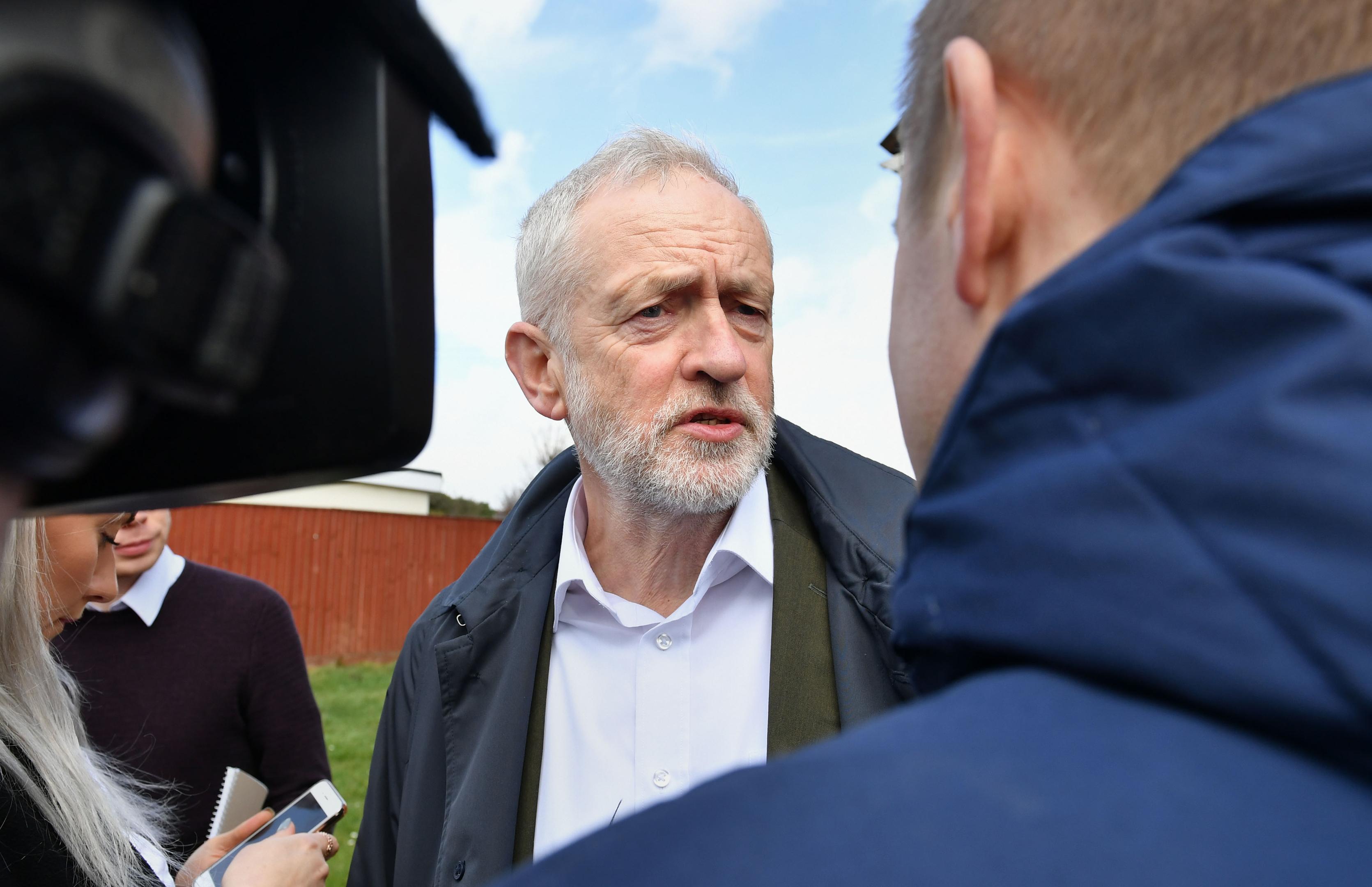 Labour leader Jeremy Corbyn (Ben Birchall/PA Wire)