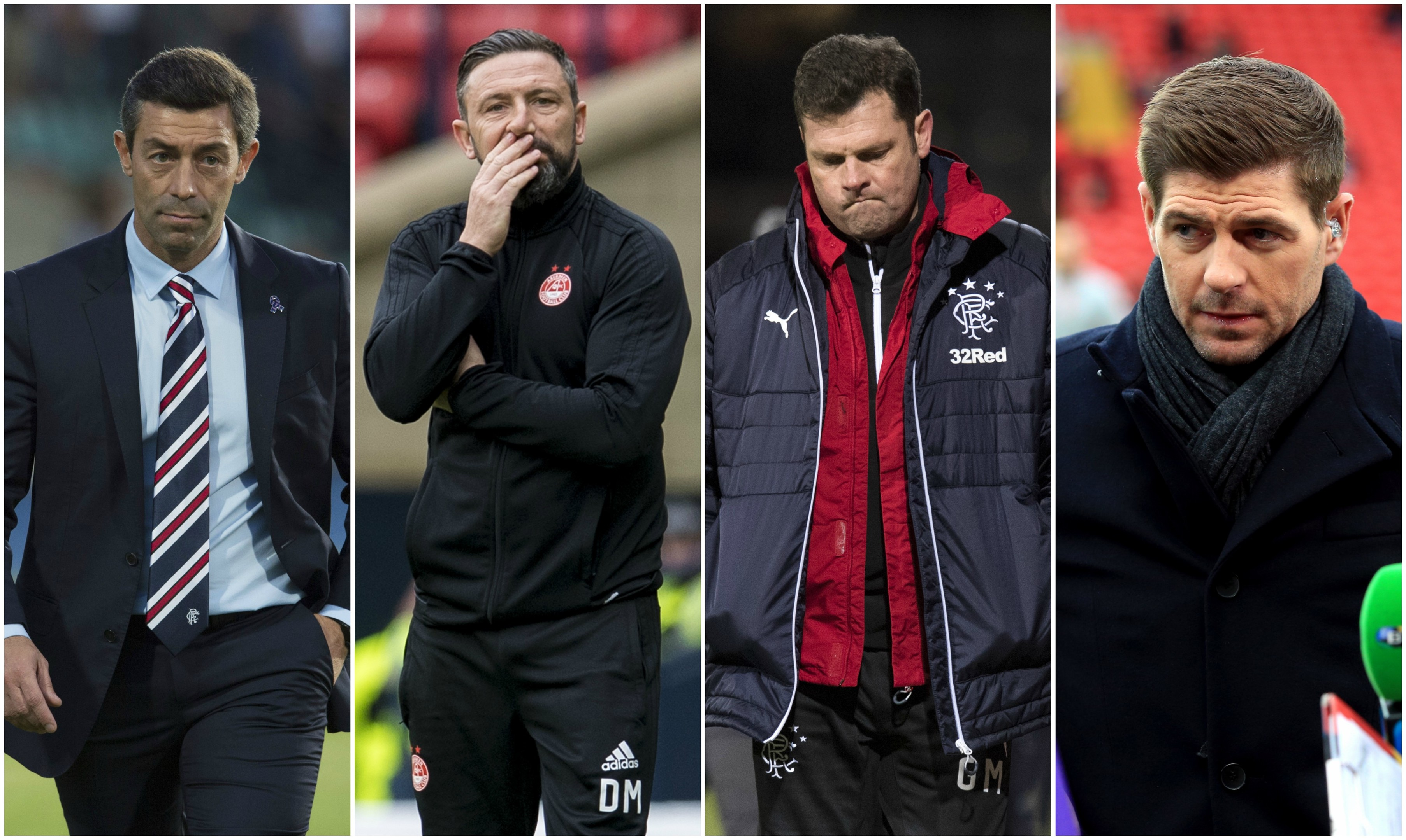 Rangers started the season with Pedro Caixinha in charge, before trying to lure Derek McInnes, then appointing and sacking Graeme Murty and finally eyeing Steven Gerrard for next season