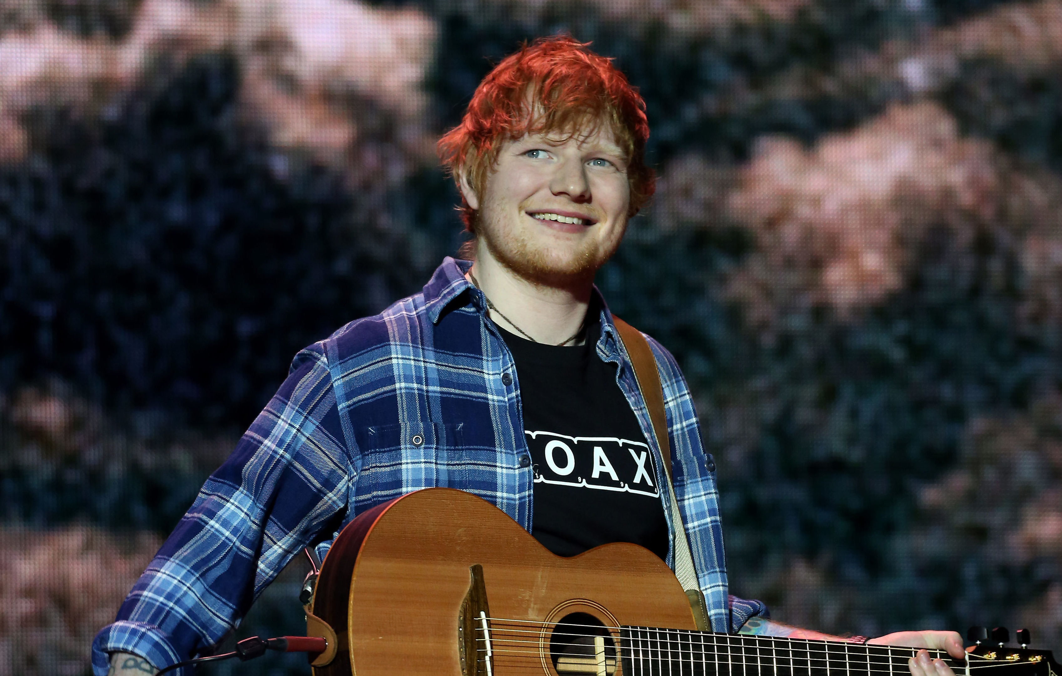 Ed Sheeran backed the fightback against touts