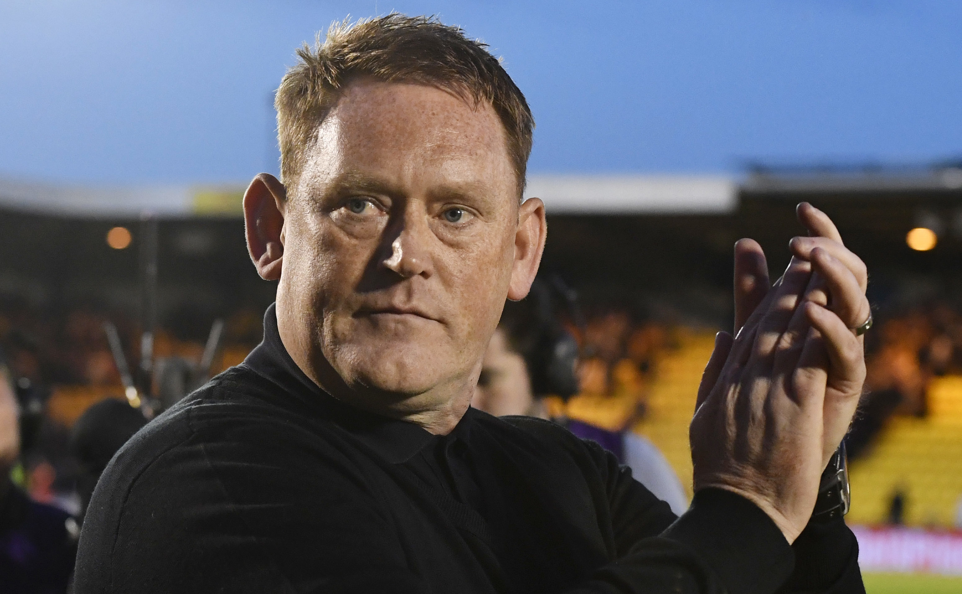 Livingston manager David Hopkin (SNS Group / Rob Casey)