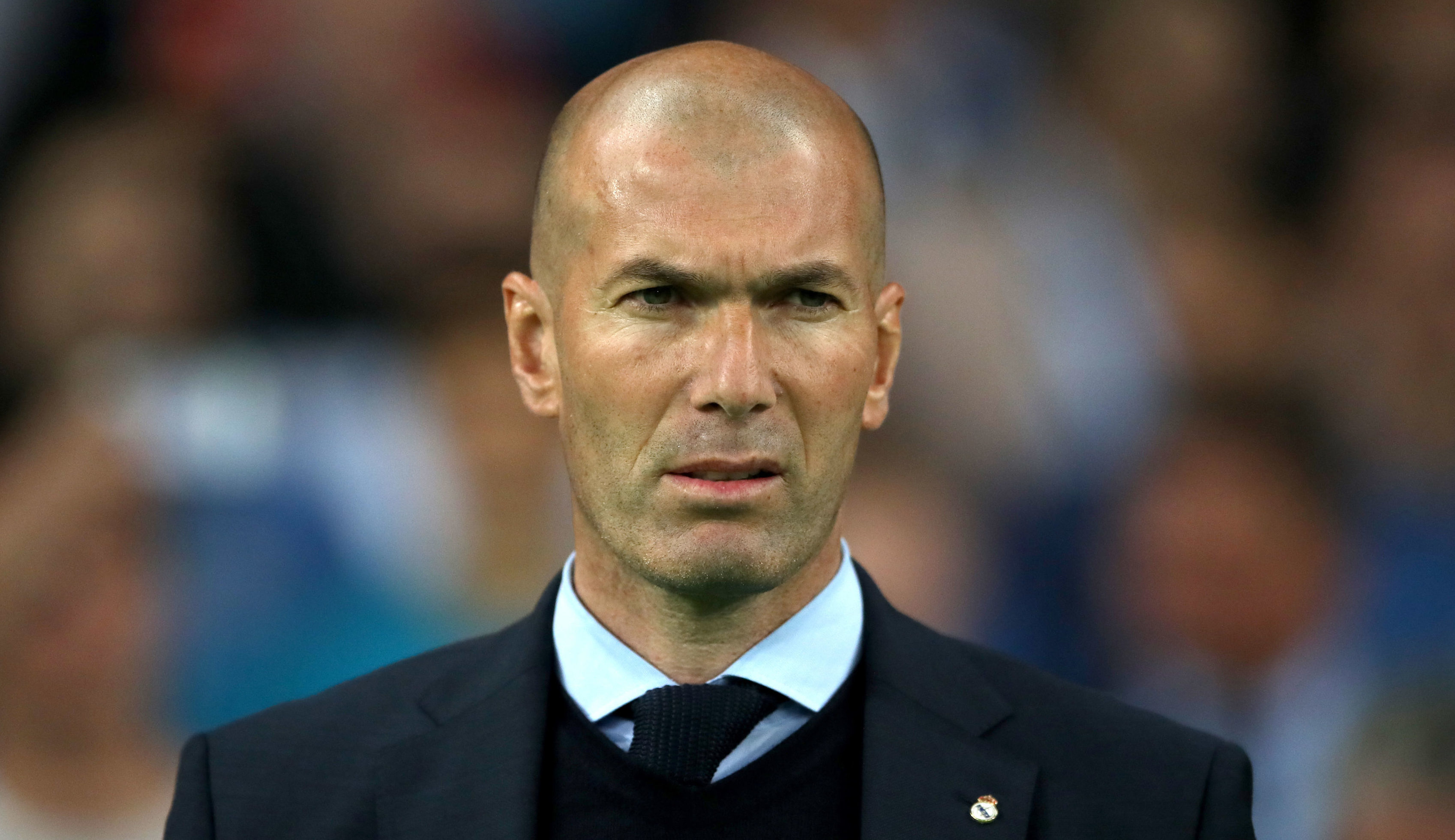 Zinedine Zidane (Nick Potts/PA Wire)