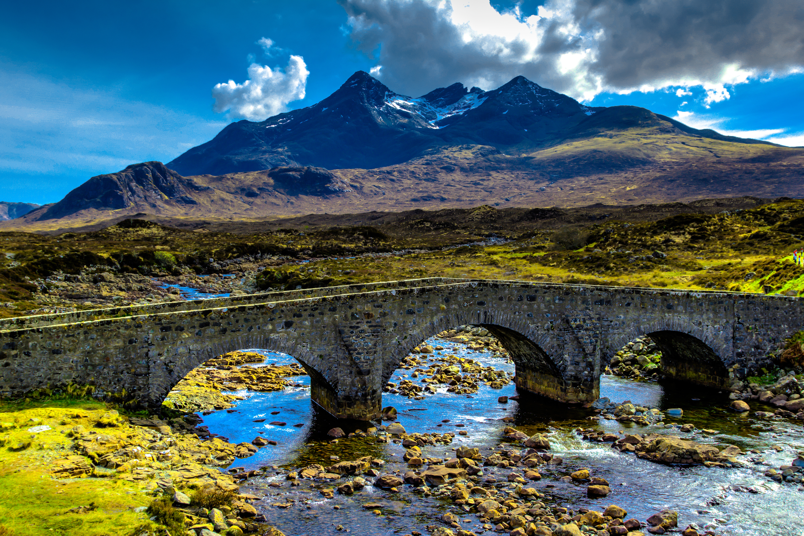 The Isle of Skye is one of Scotland's most popular holiday destinations.