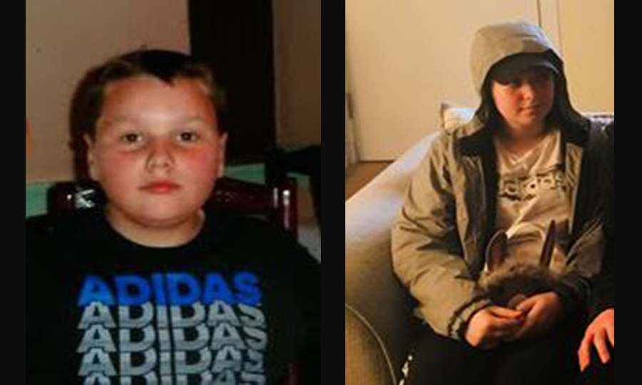 The two missing children (Police Scotland)