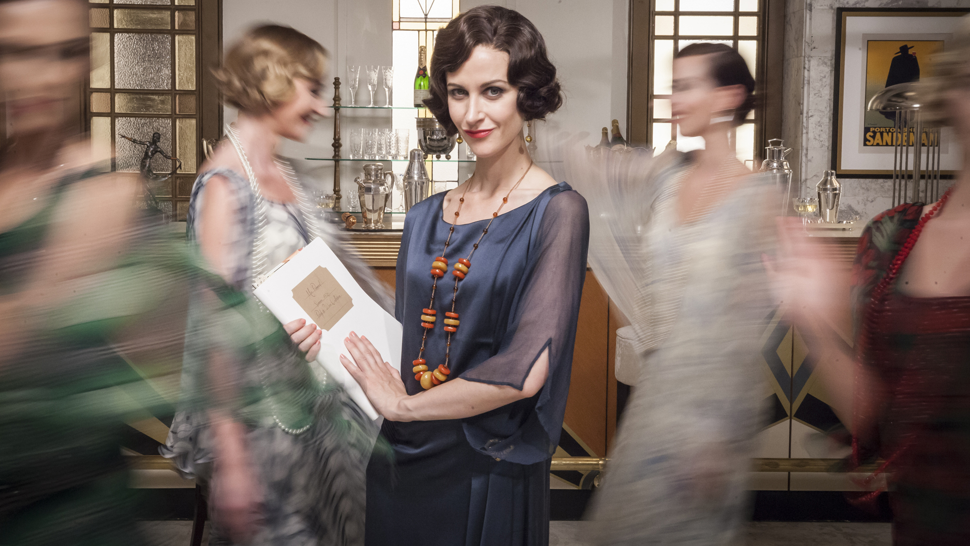 Times have changed for department stores such as Selfridges – seen here in                            the ITV drama, Mr Selfridge – and they face an uncertain future as they face stern retail competition