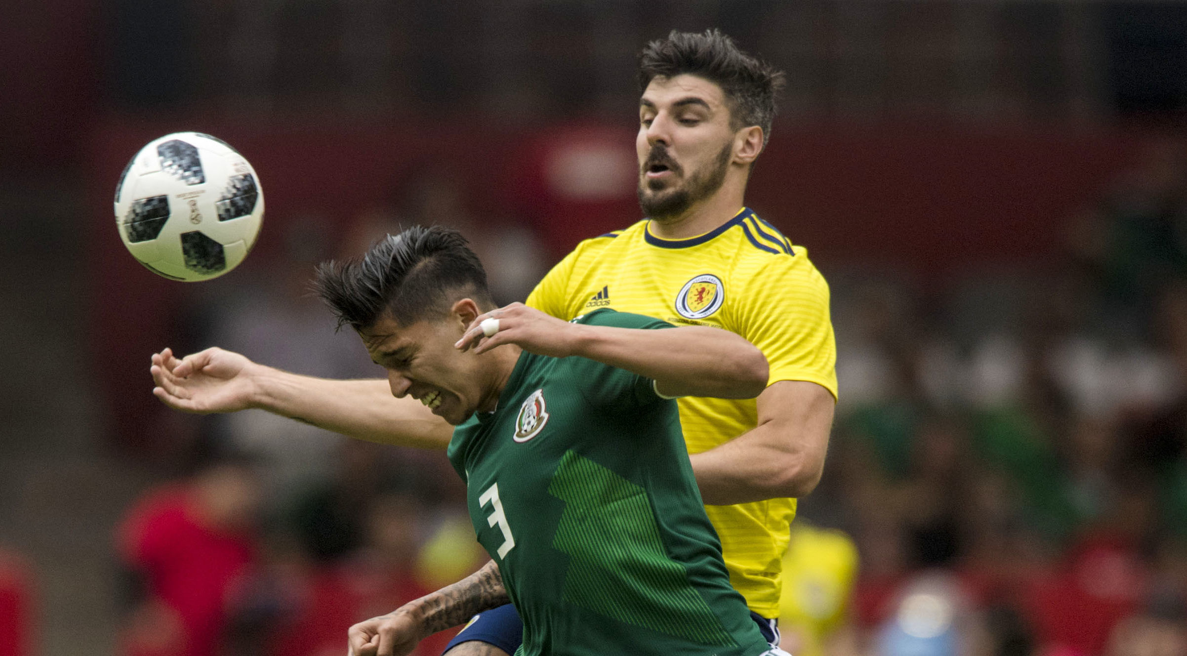 Scotland's Callum Paterson (right) in action (SNS Group / Alan Harvey)