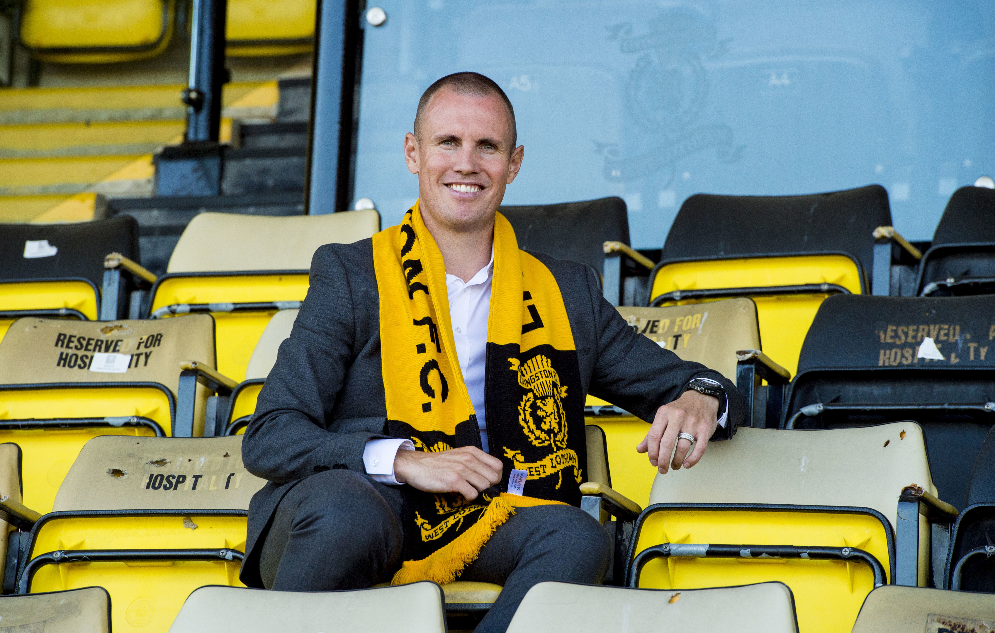 Kenny Miller is unveiled as Livingston's new player-manager (SNS Group)