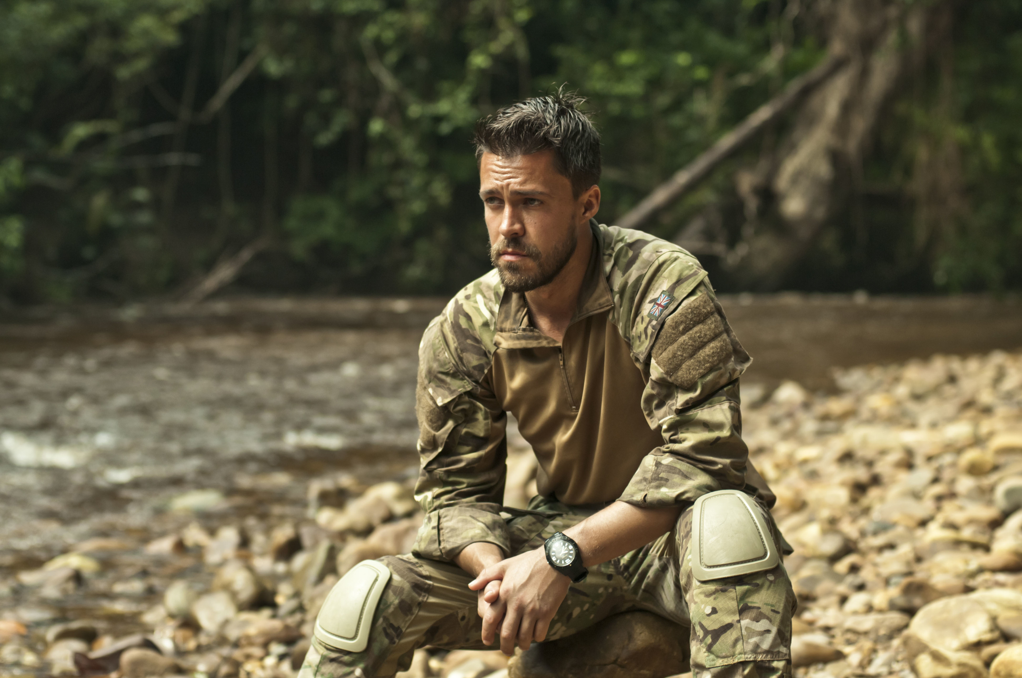 Oliver Rix in Our Girl (J Redza / BBC)