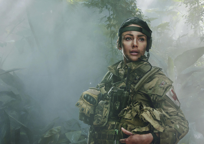 Michelle as Georgie Lane (BBC/ Frans Marais)