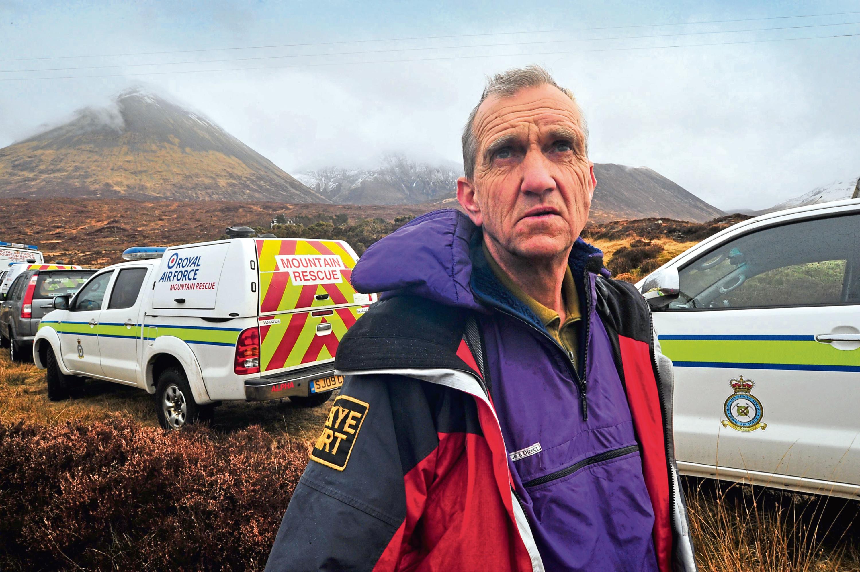 Skye Mountain Rescue Team Leader Gerry Akroyd (Iain Smith)
