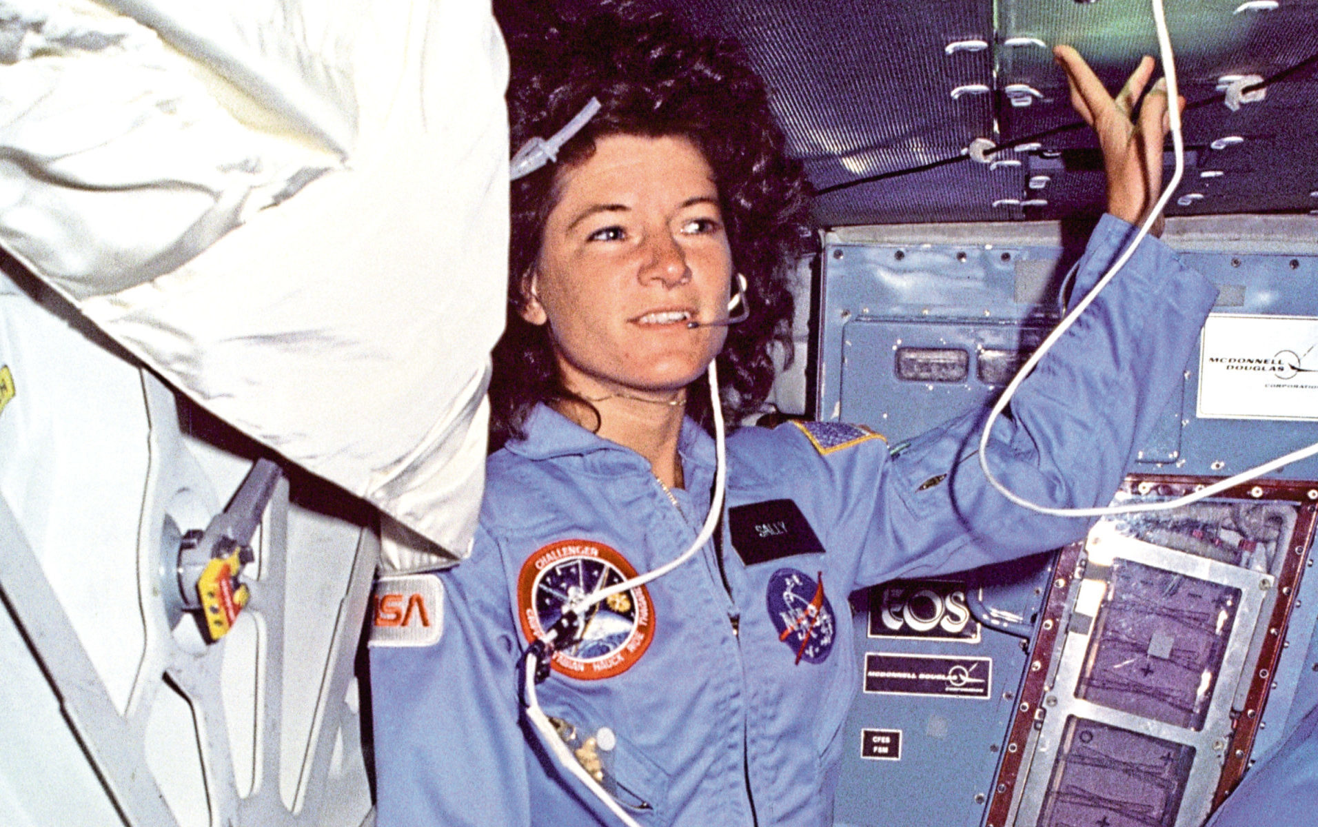 Sally Ride became the stuff of legend as USA's first female astronaut in space in 1983
