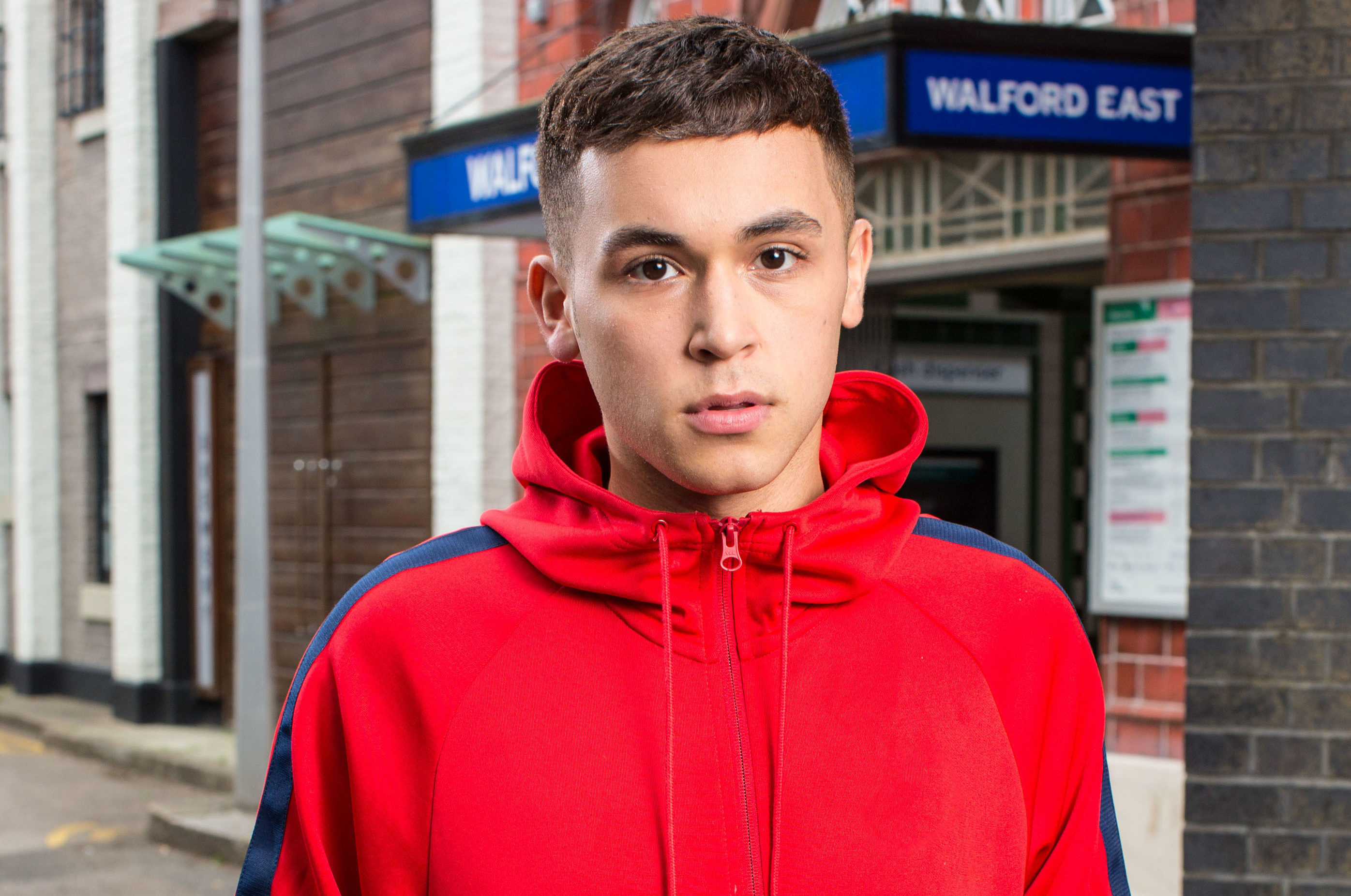 Shaheen Jafargholi in character as Shakil Kazem (Jack Barnes/BBC/PA Wire)