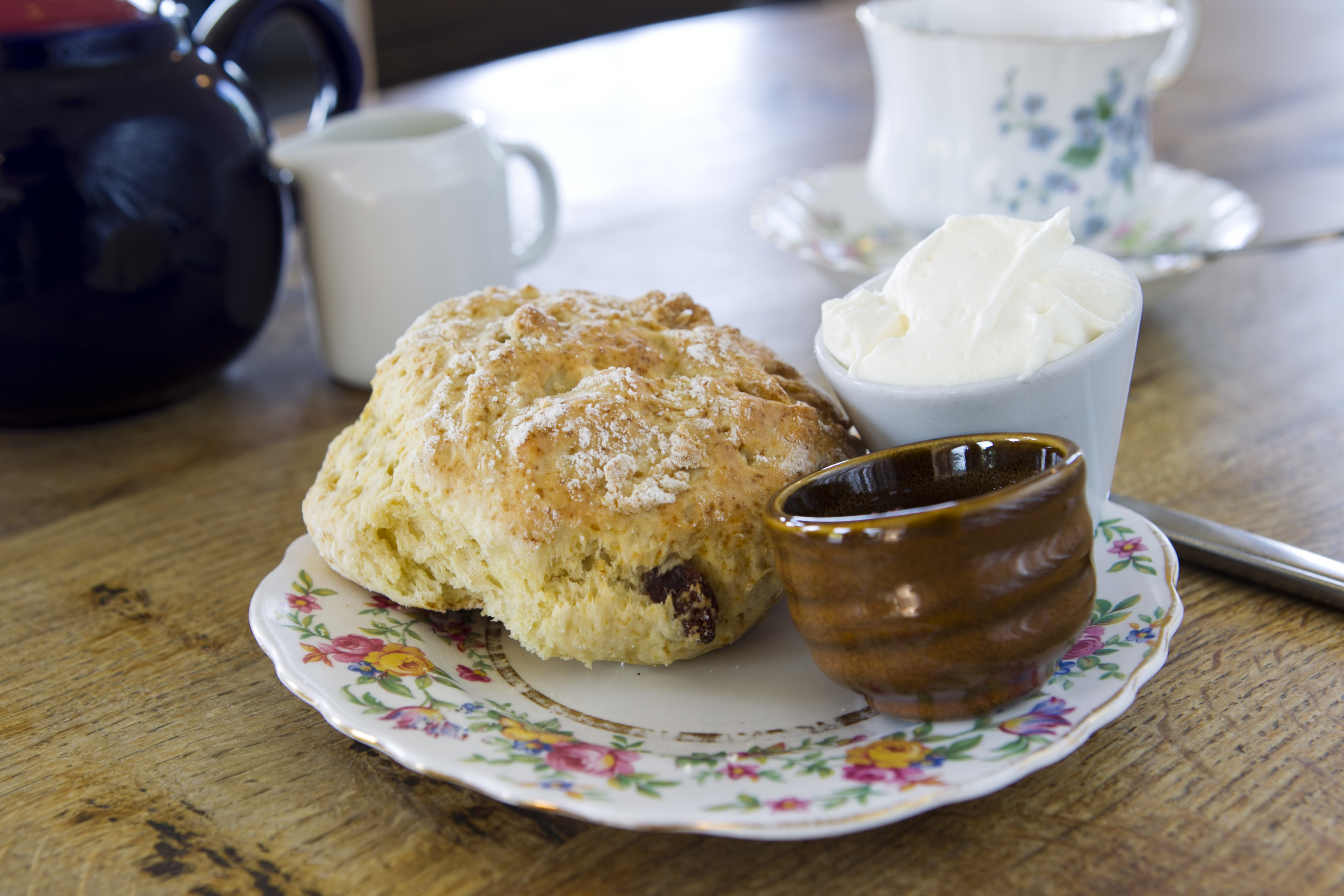 The recipes for the scones come from the owner's  grandmother's recipe book from the 1920s (Andrew Cawley / DC Thomson)