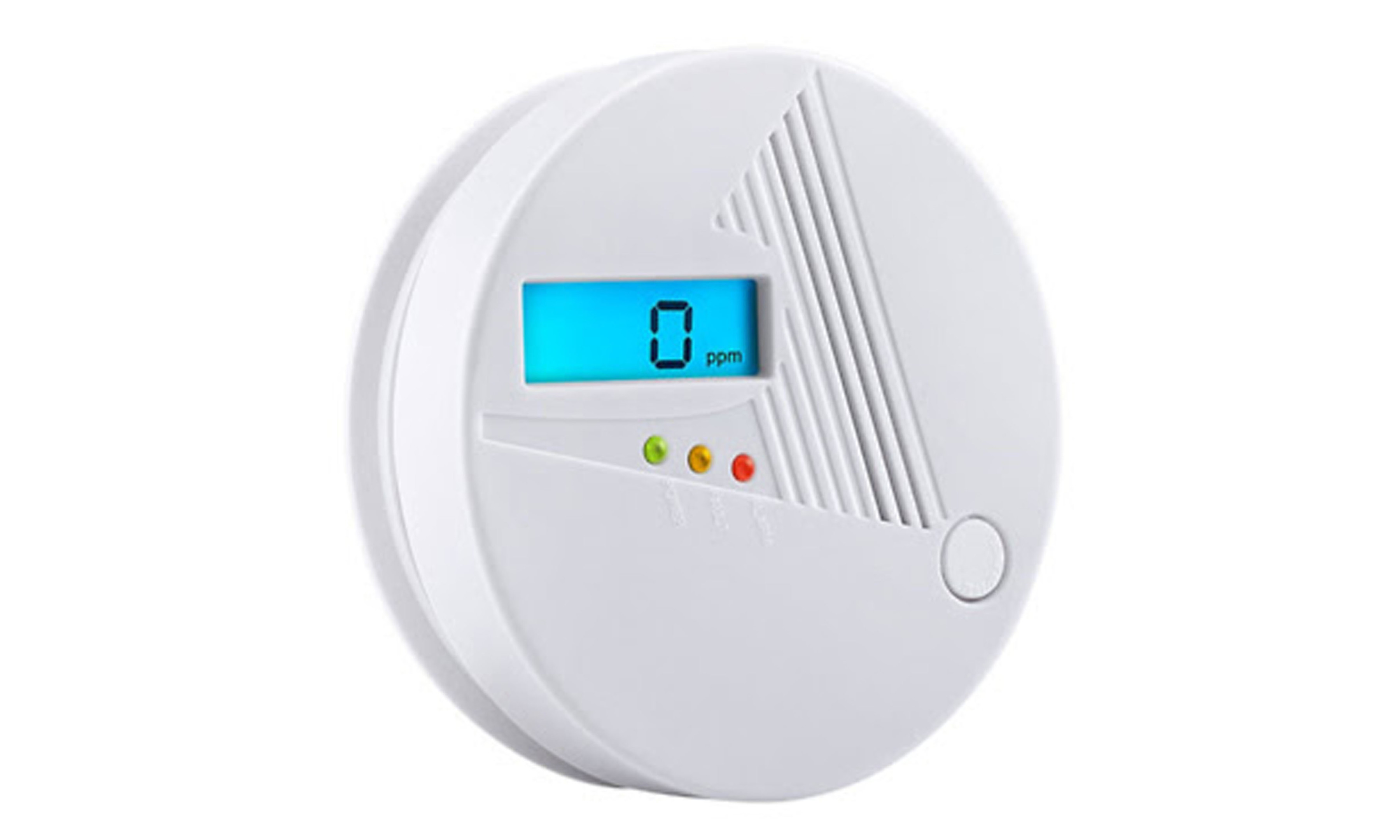 The Topolek GEHS007AW CO alarm costing £14.99 and listed as a bestseller on Amazon, which failed to detect carbon monoxide gas in more than 80% of the tests conducted by the watchdog (Which?/PA Wire)