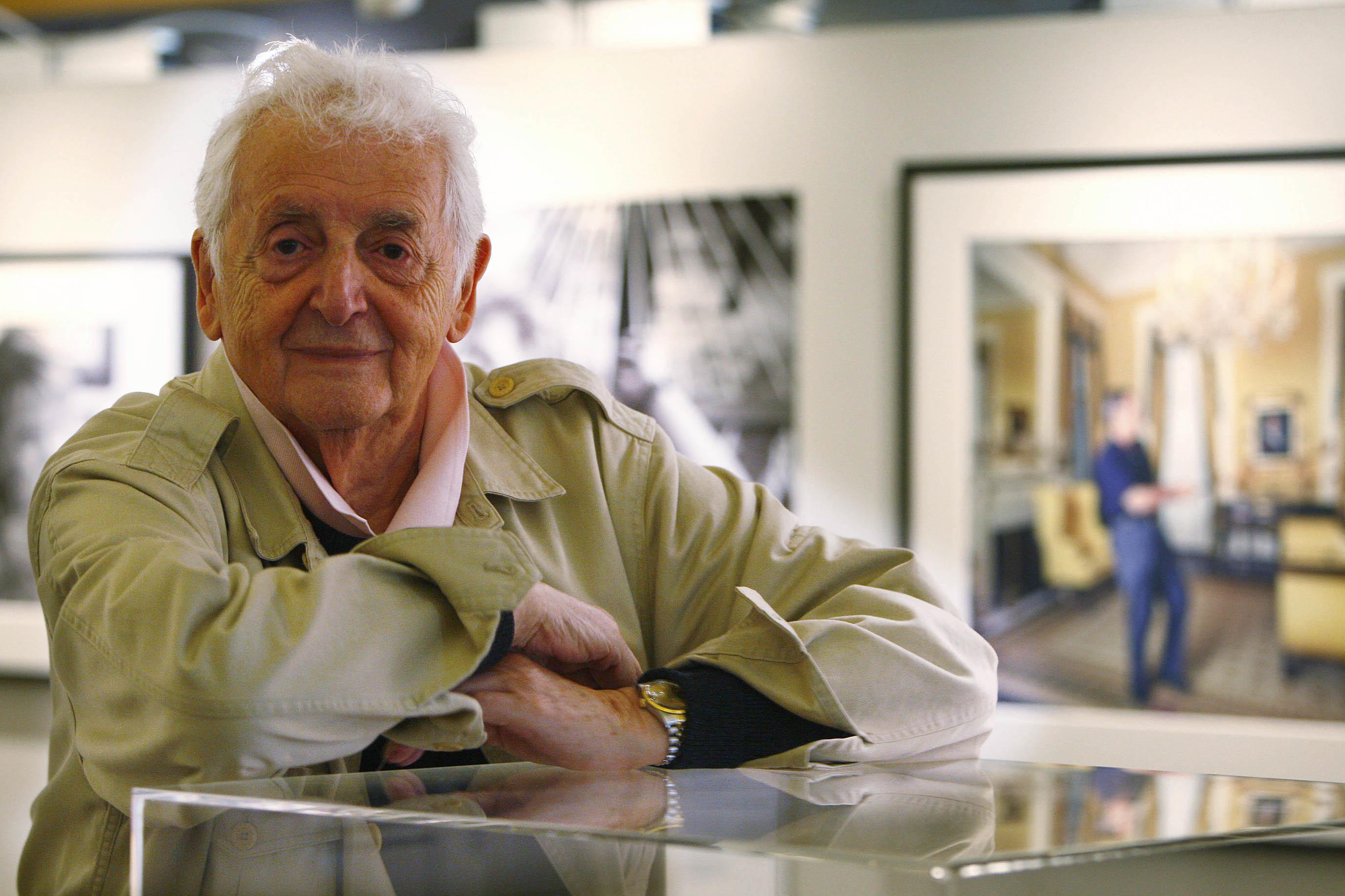 Photographer Harry Benson (Andrew Cowan/Scottish Parliament)