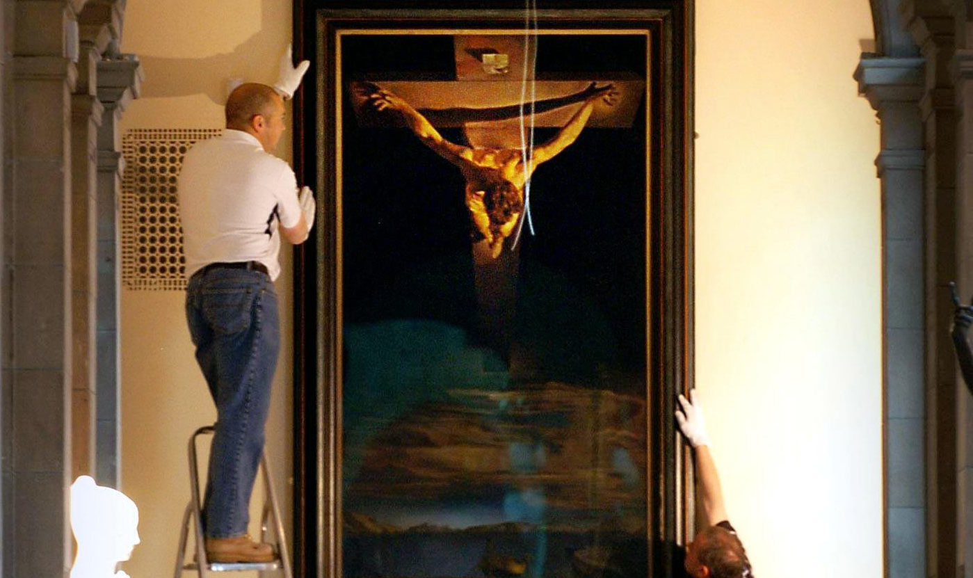 Christ Of St John Of The Cross at Kelvingrove Art Gallery and Museum in Glasgow (Danny Lawson/PA Wire)