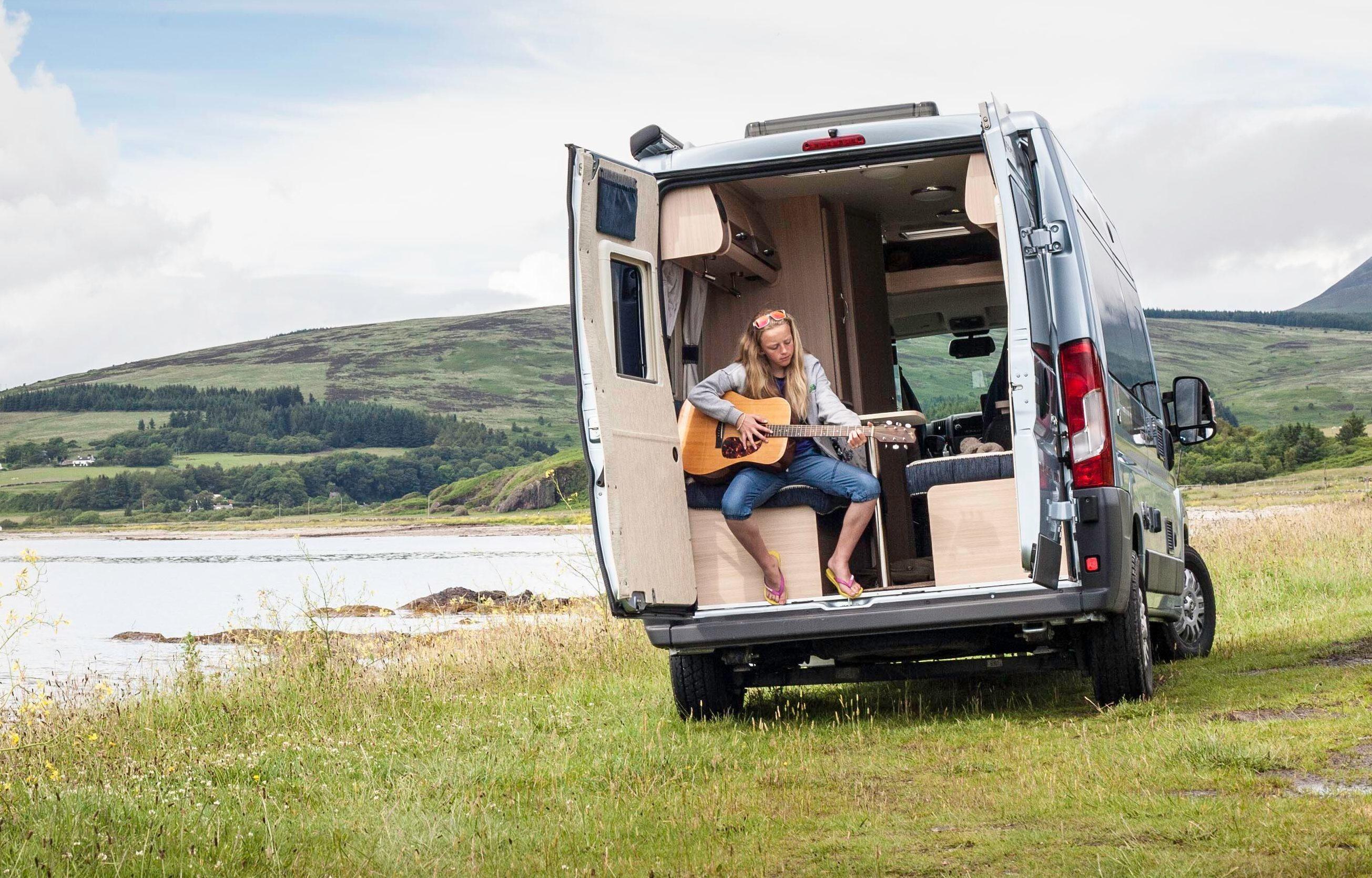 Sights, van, man: A happy camper's tour of Scotland