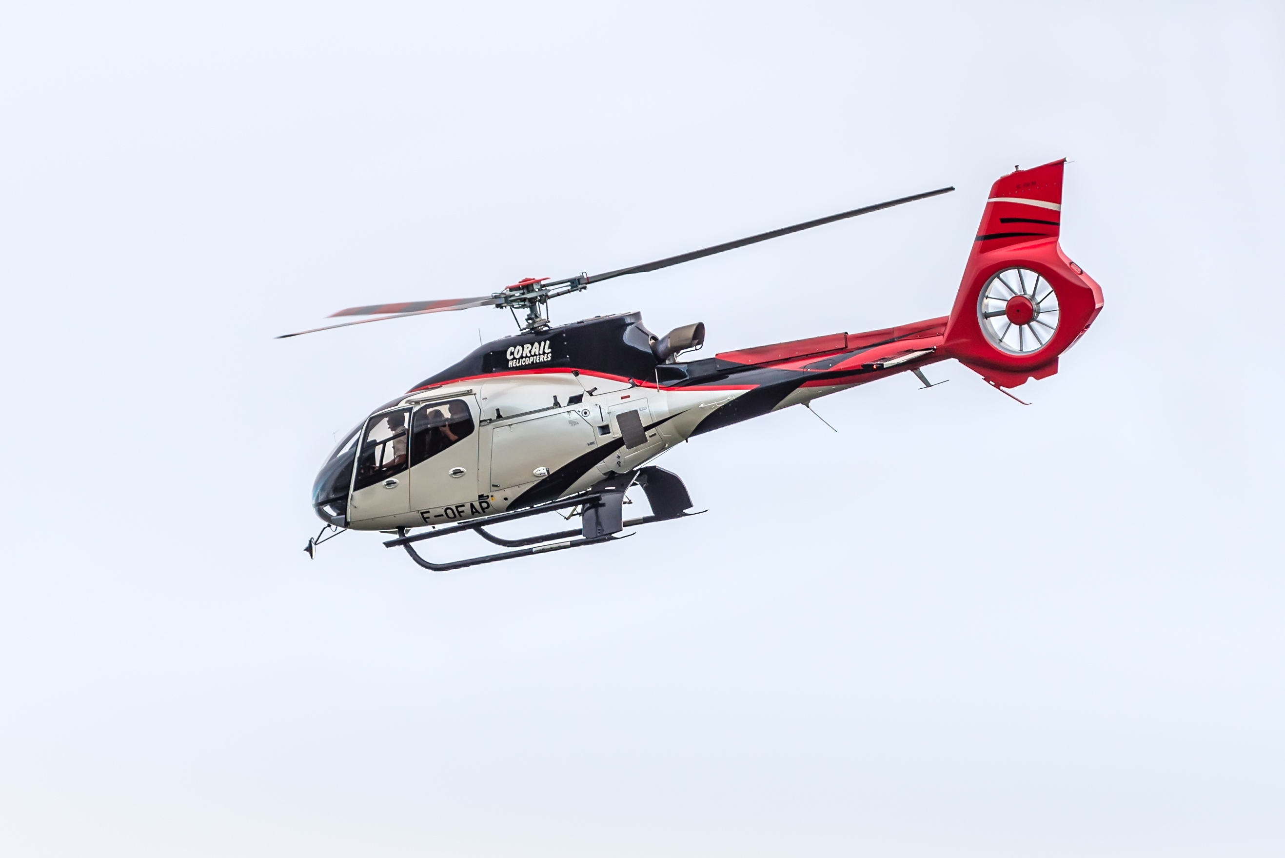 An AS350 Squirrel aircraft, similar to the one that was forced to land in a loch (iStock)