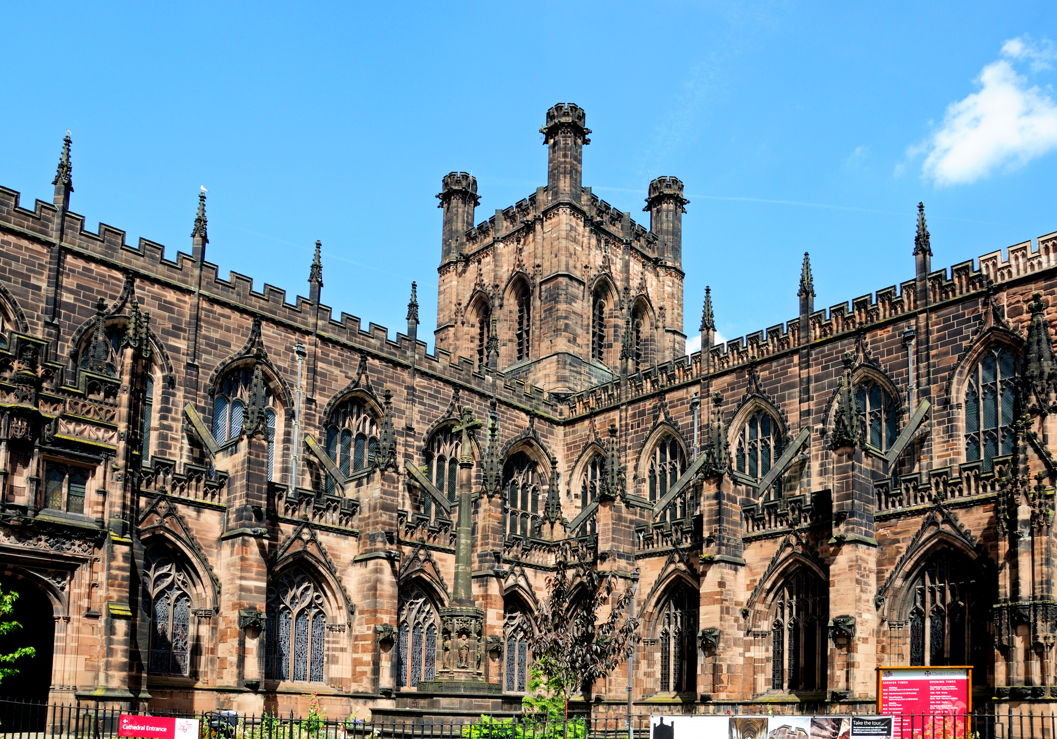 Cathedral Church of Christ and The Blessed Virgin Mary, Chester (Getty Images)