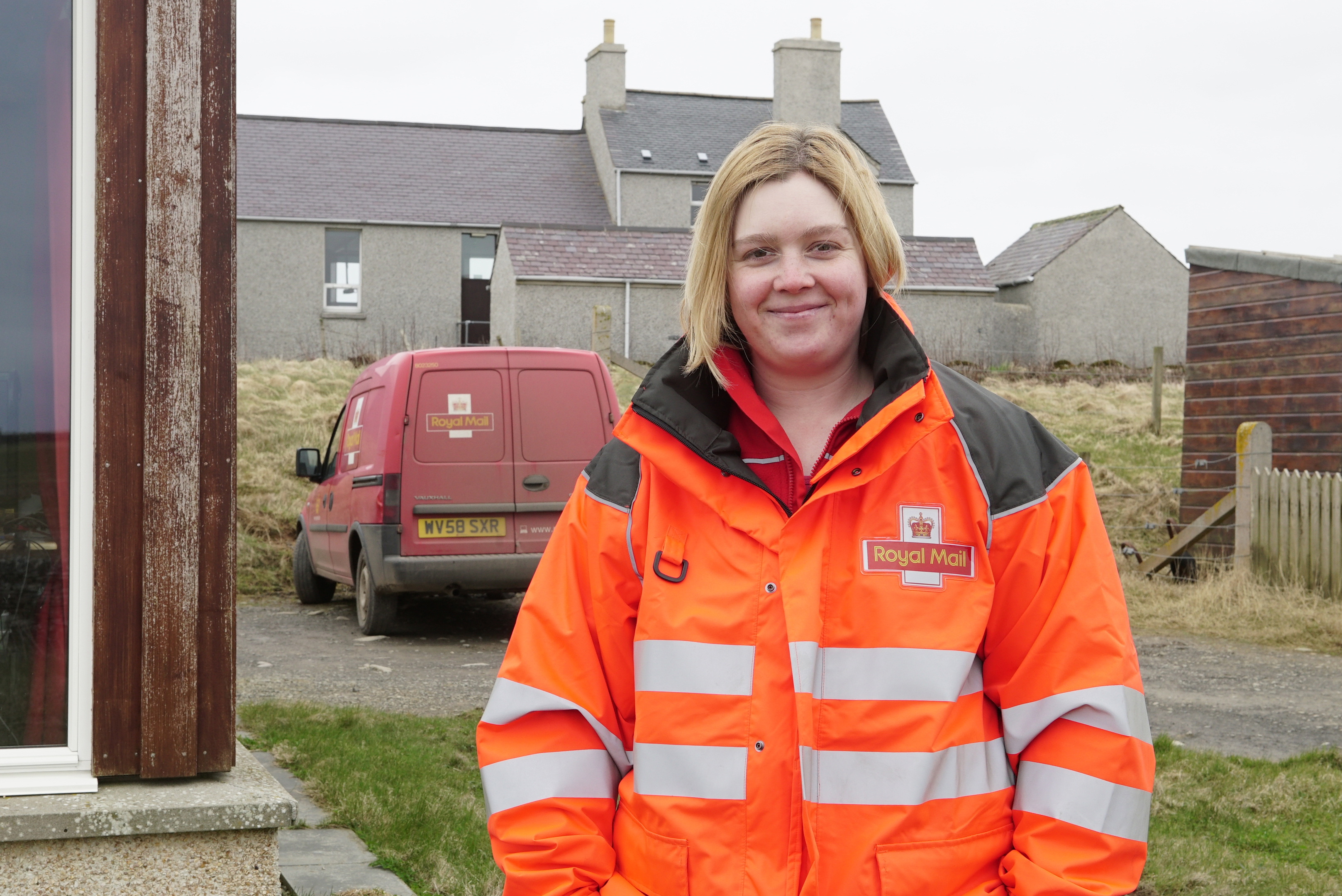 Sarah Moore in The Island That Saved My Life (BBC)